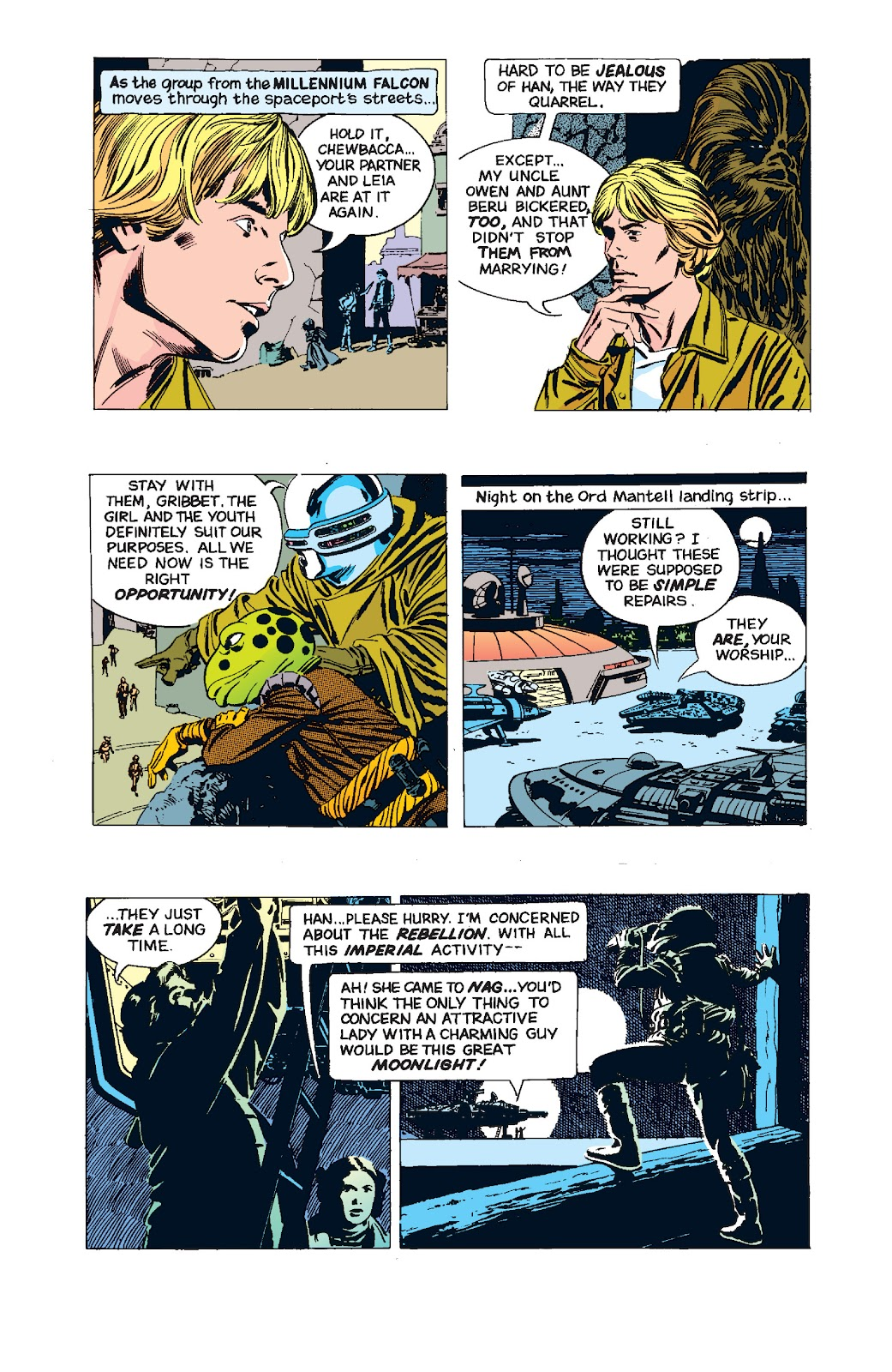 Read online Star Wars Legends: The Newspaper Strips - Epic Collection comic -  Issue # TPB (Part 4) - 99