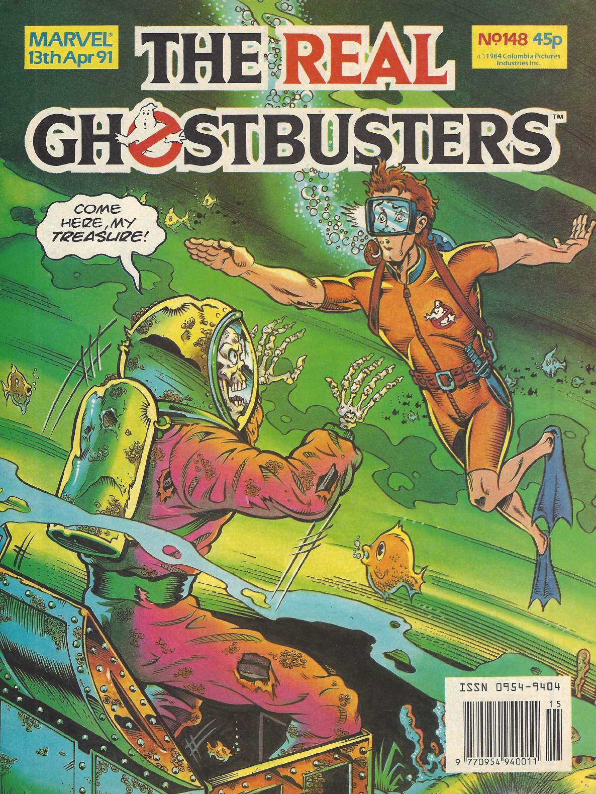 The Real Ghostbusters Issue #148 #131 - English 12