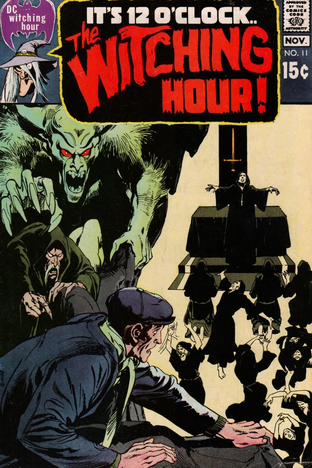 The Witching Hour (1969) issue 11 - Page 1