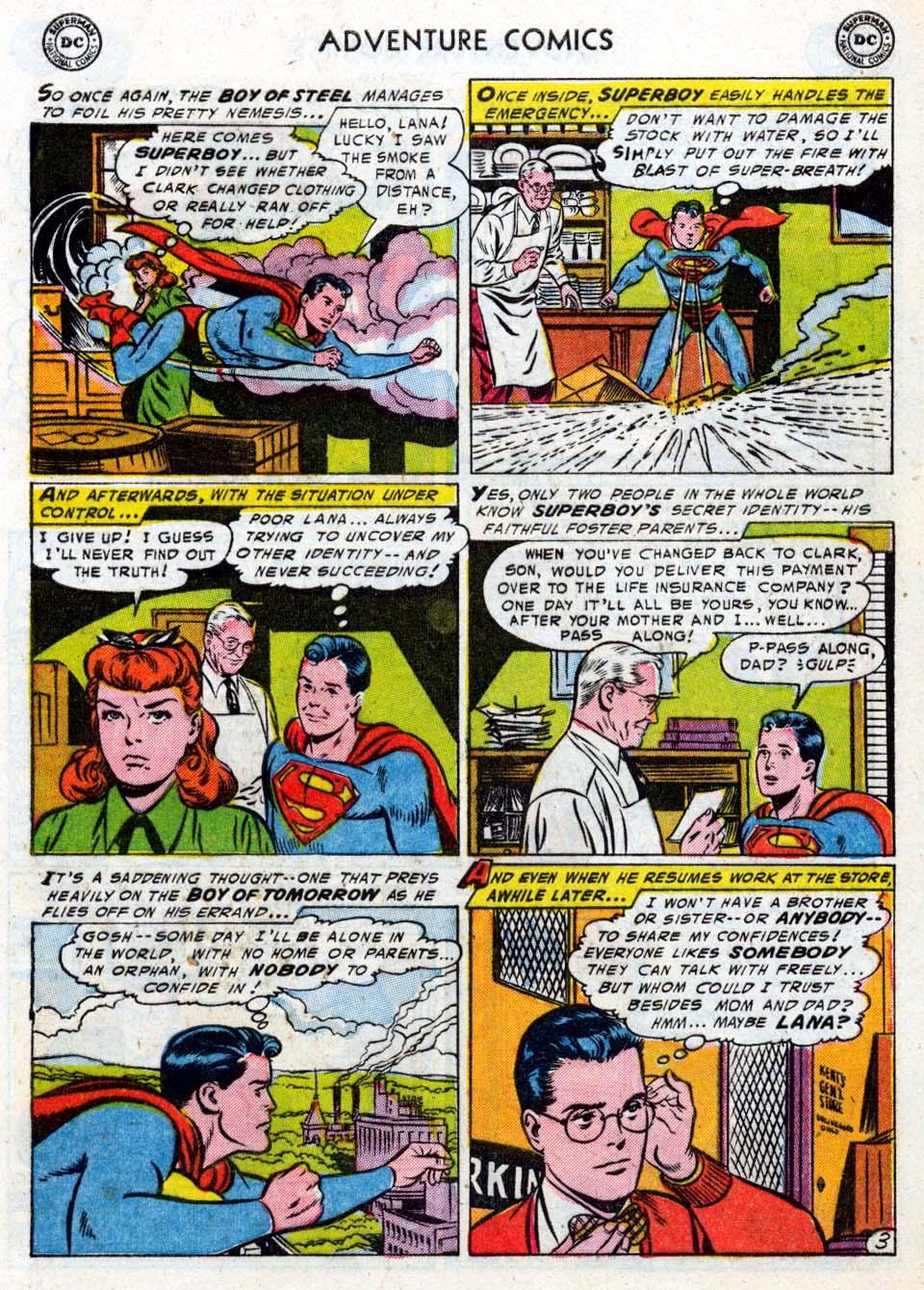Read online Adventure Comics (1938) comic -  Issue #211 - 5