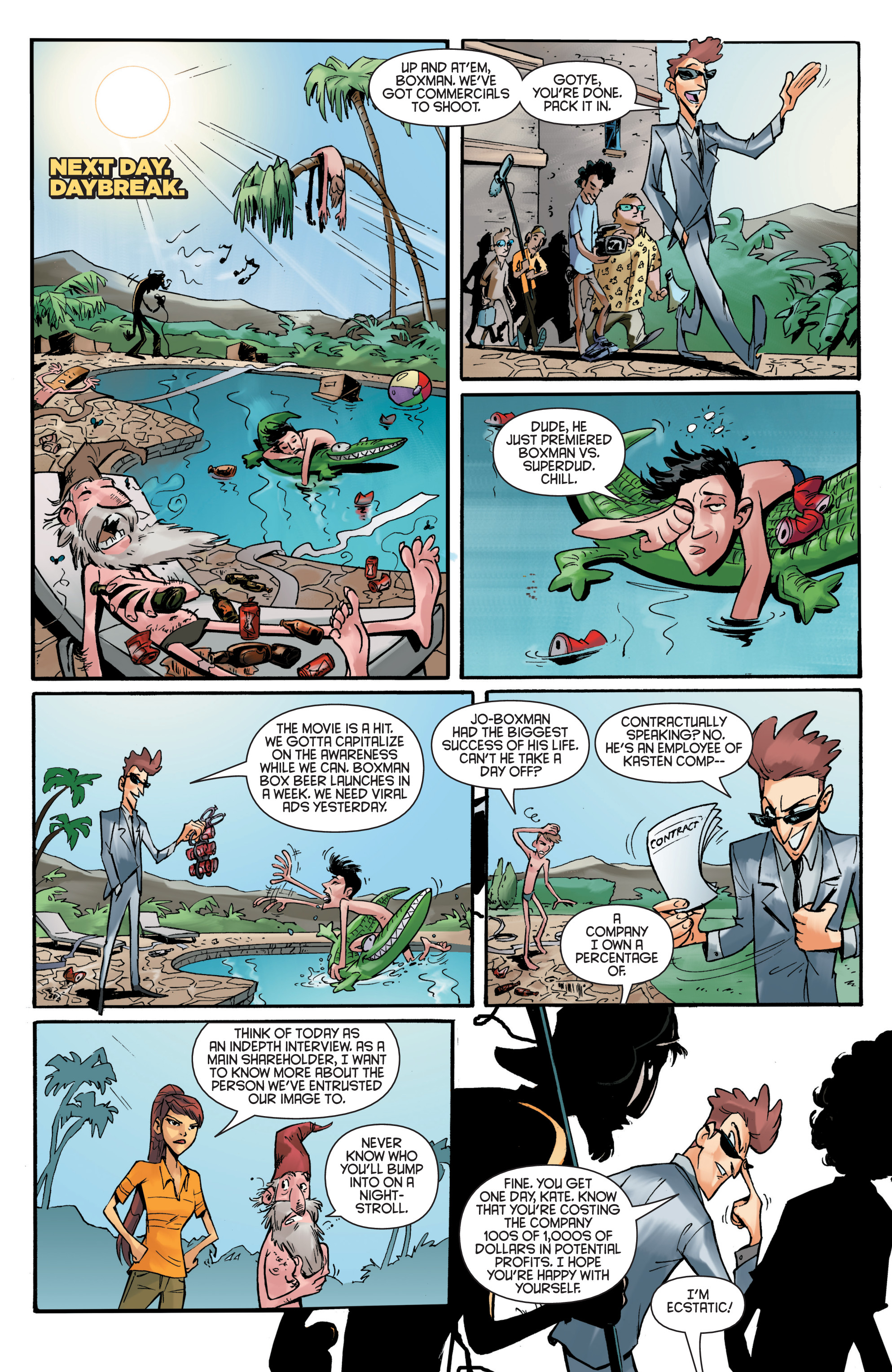 Read online Smosh comic -  Issue #5 - 9
