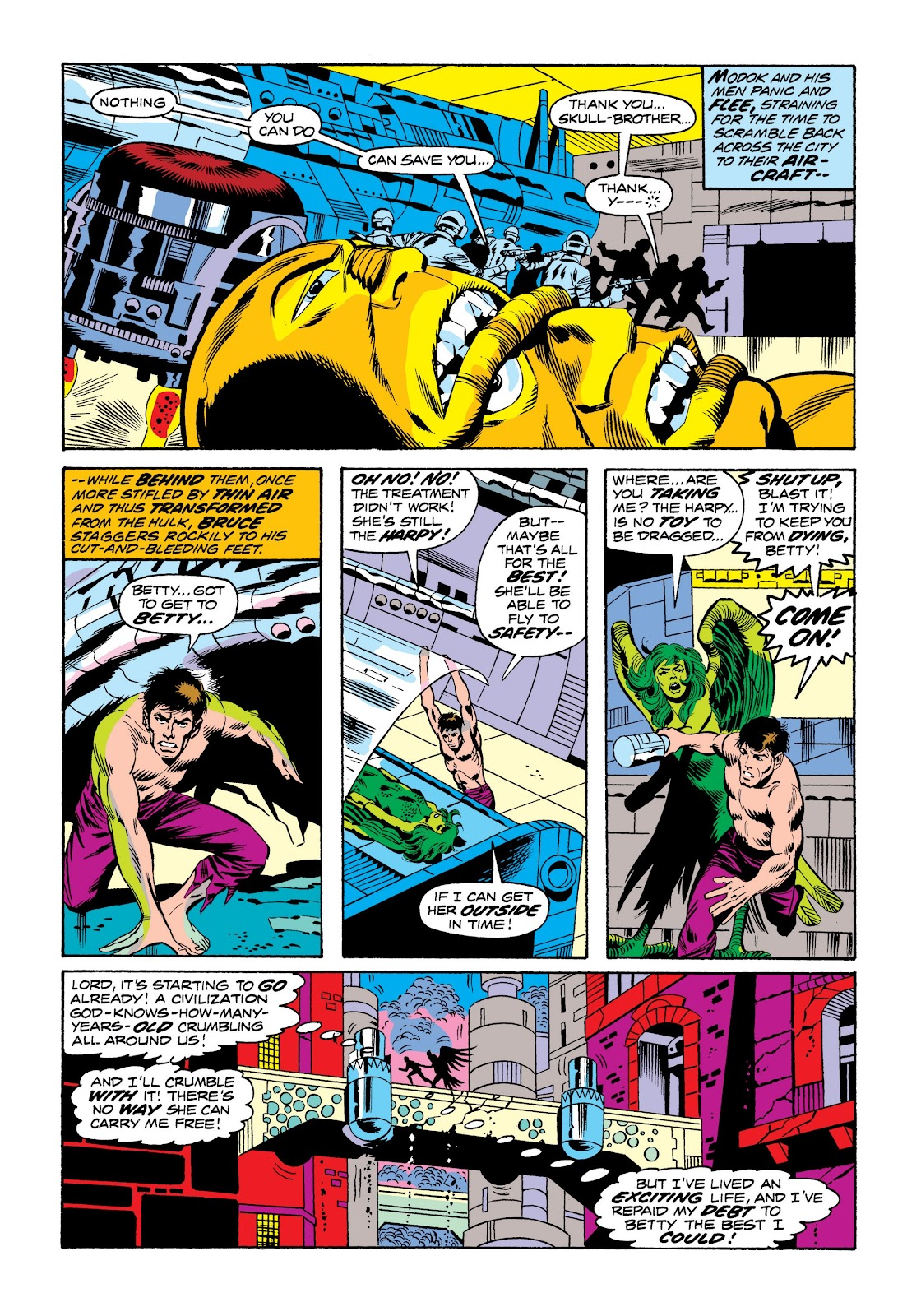 Read online Marvel Masterworks: The Incredible Hulk comic -  Issue # TPB 9 (Part 3) - 75