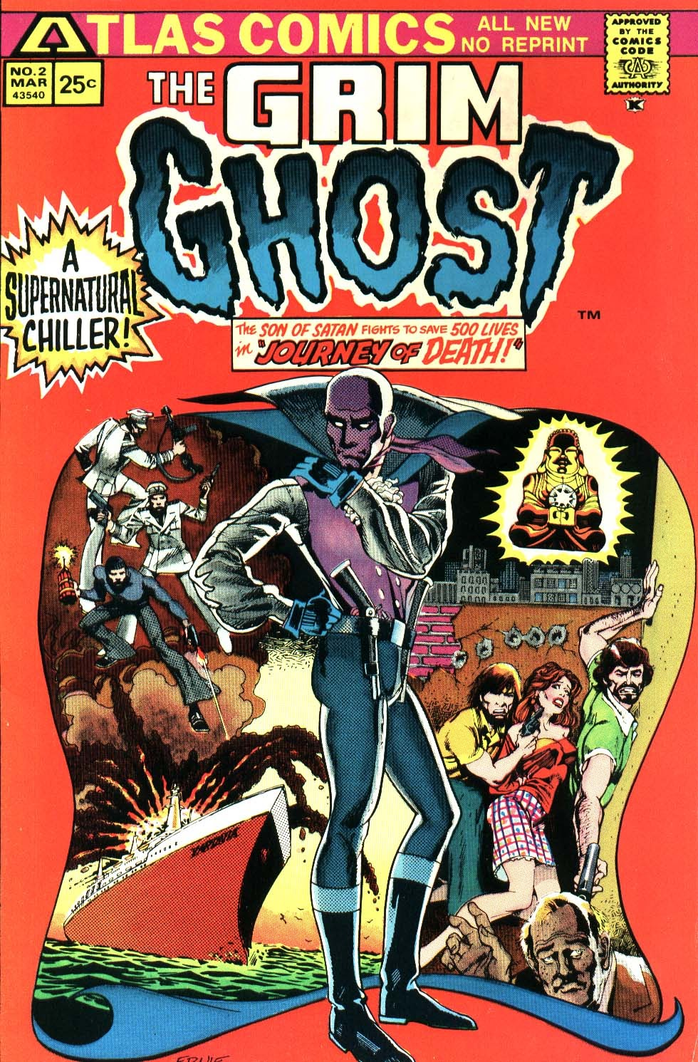 The Grim Ghost (1975) issue 2 - Page 1