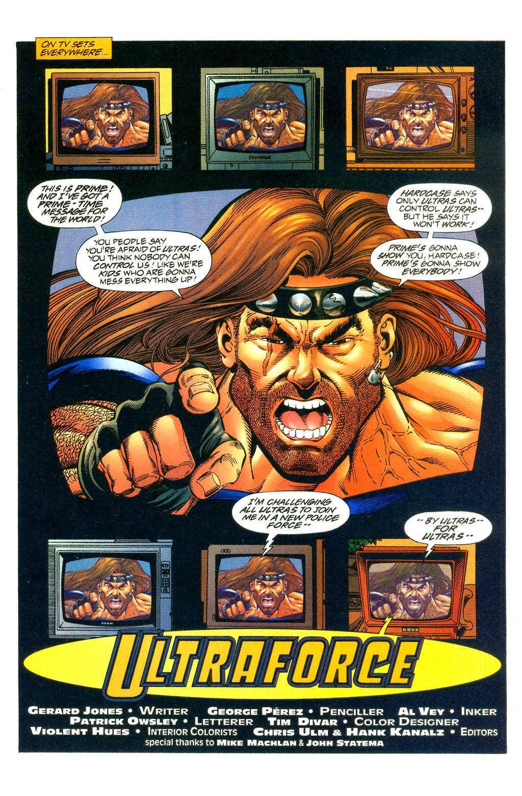 Read online UltraForce (1994) comic -  Issue #0 - 16