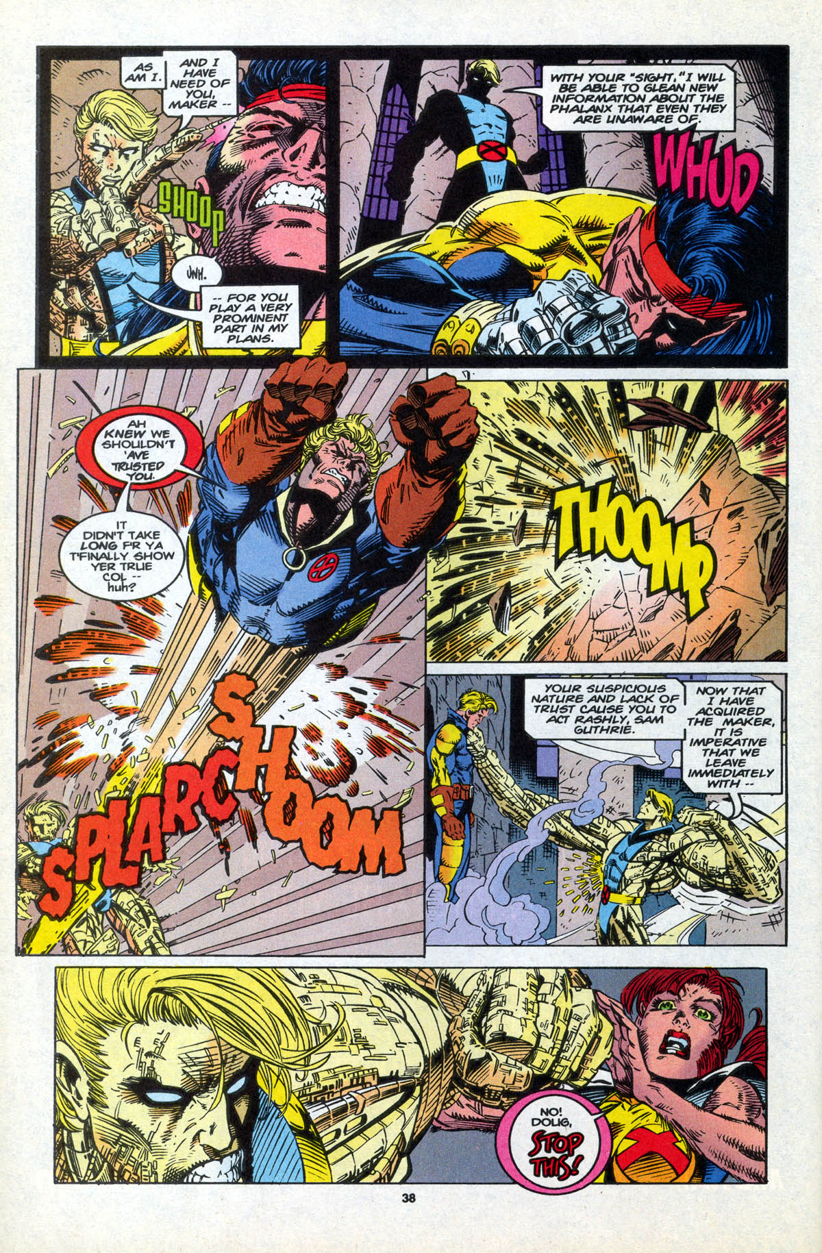 Read online X-Factor (1986) comic -  Issue #106 - 38