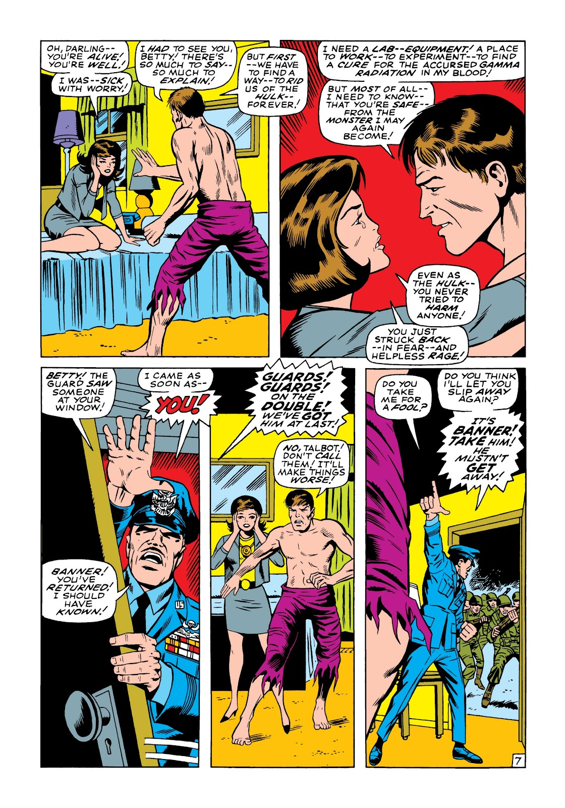 Read online Marvel Masterworks: The Incredible Hulk comic -  Issue # TPB 5 (Part 1) - 76