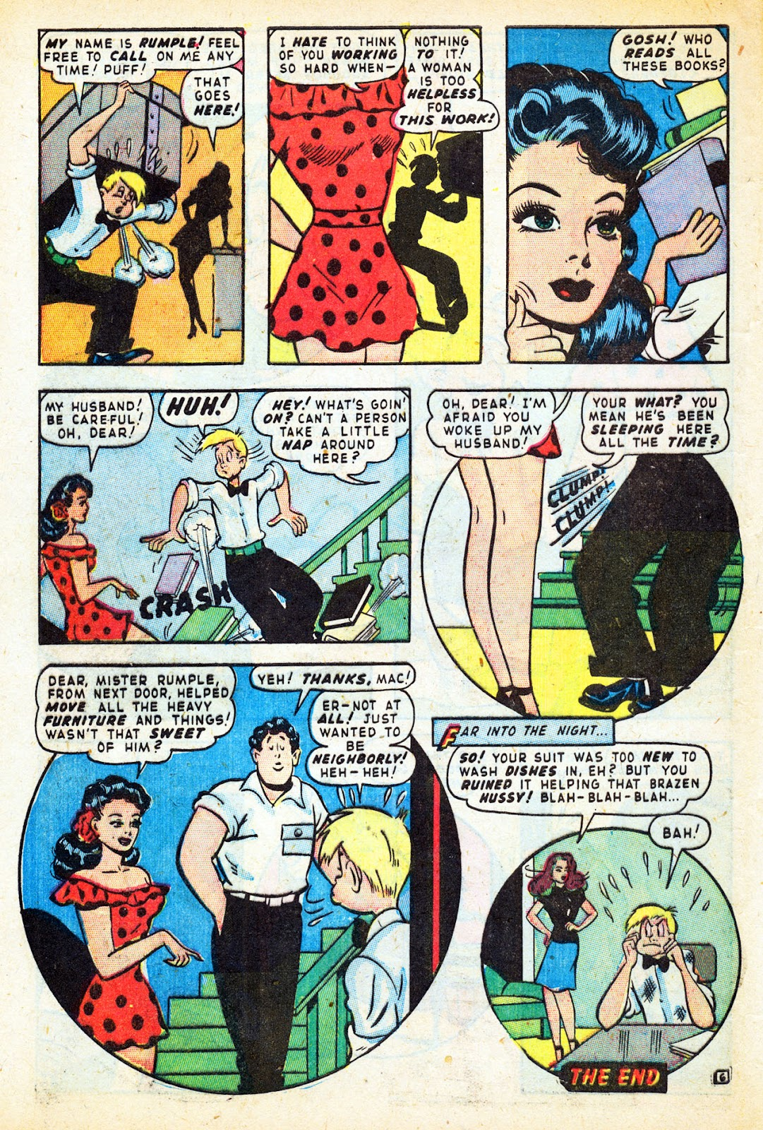 Read online Nellie The Nurse (1945) comic -  Issue #12 - 42