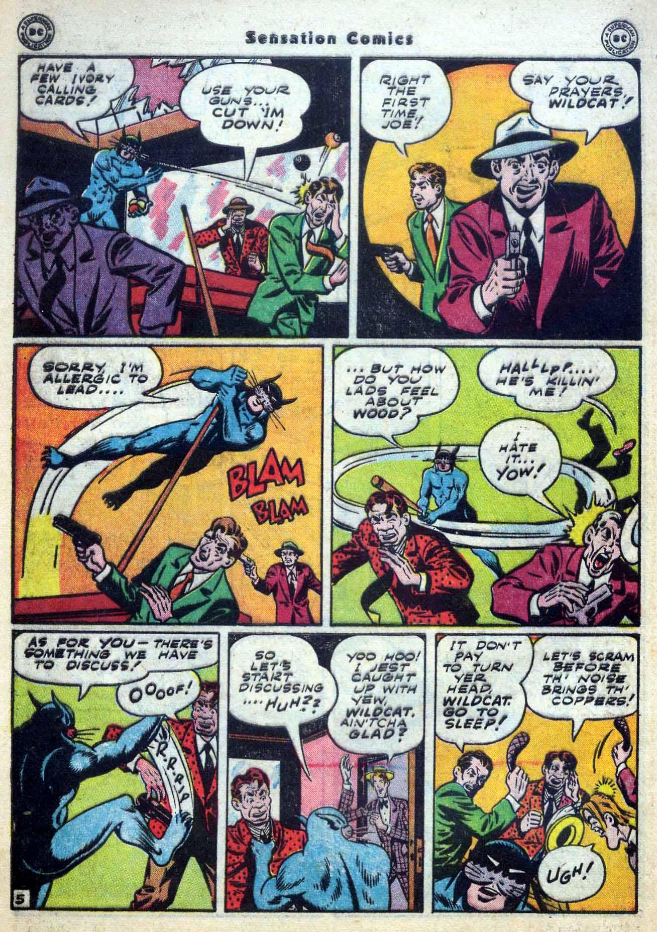 Read online Sensation (Mystery) Comics comic -  Issue #59 - 46