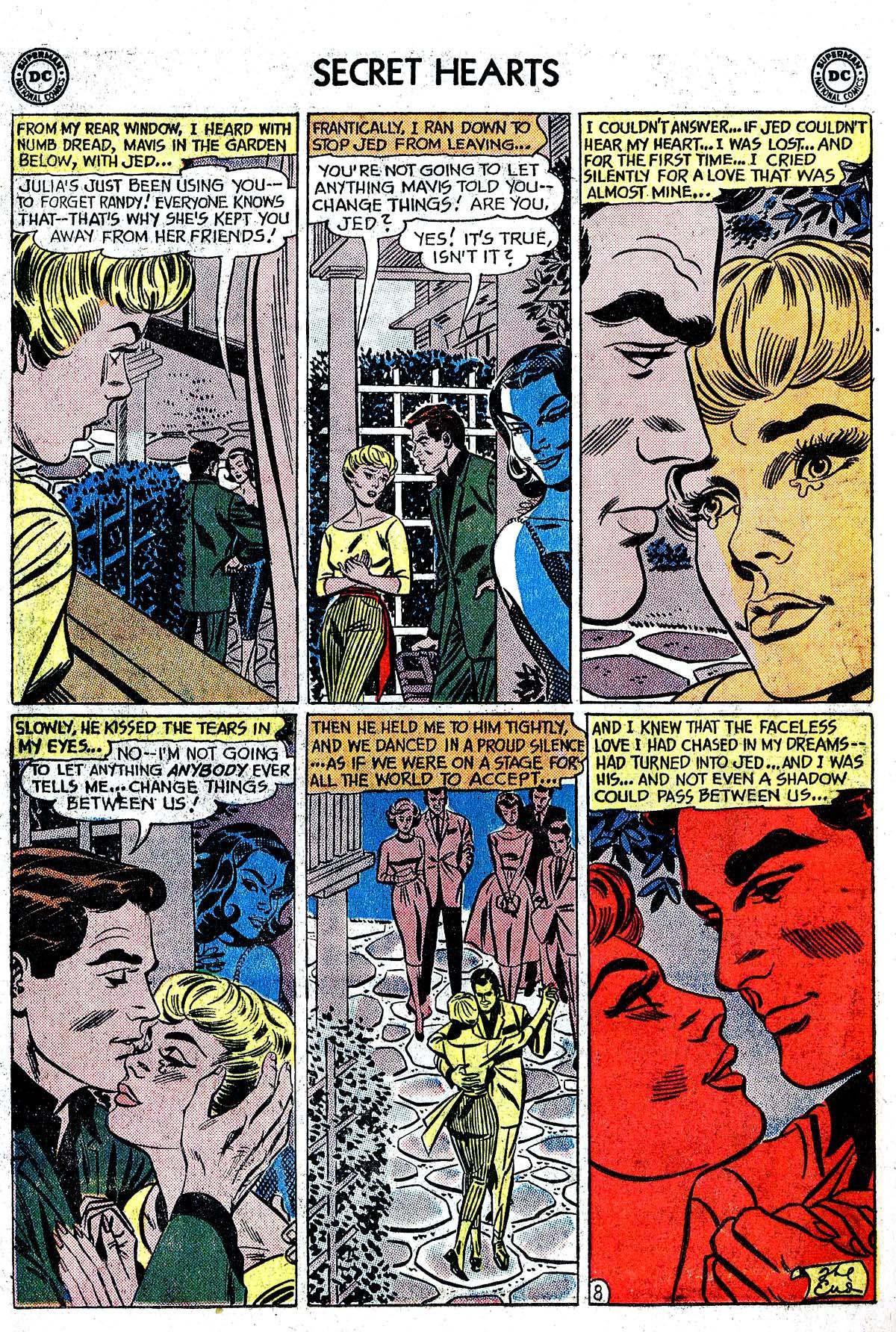 Read online Secret Hearts comic -  Issue #82 - 34