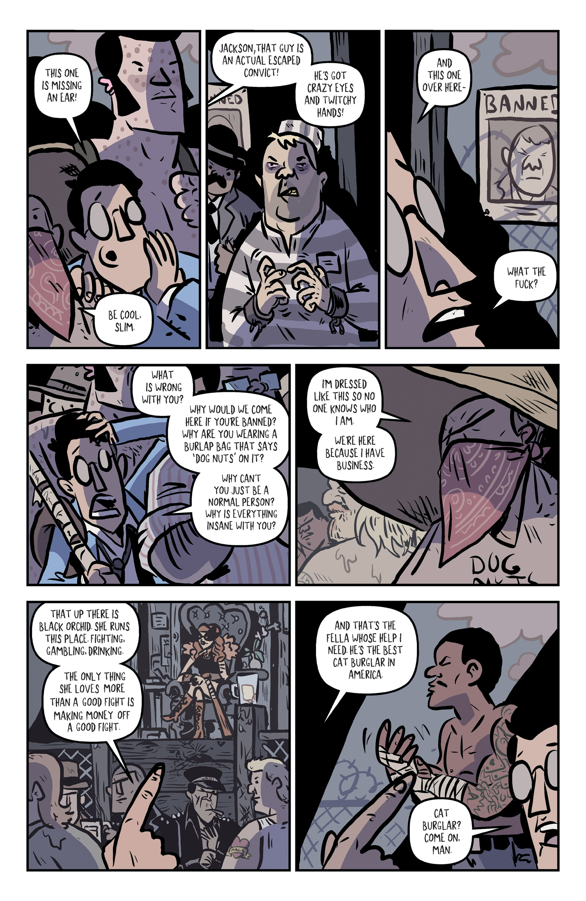 Read online Rock Candy Mountain comic -  Issue #2 - 12