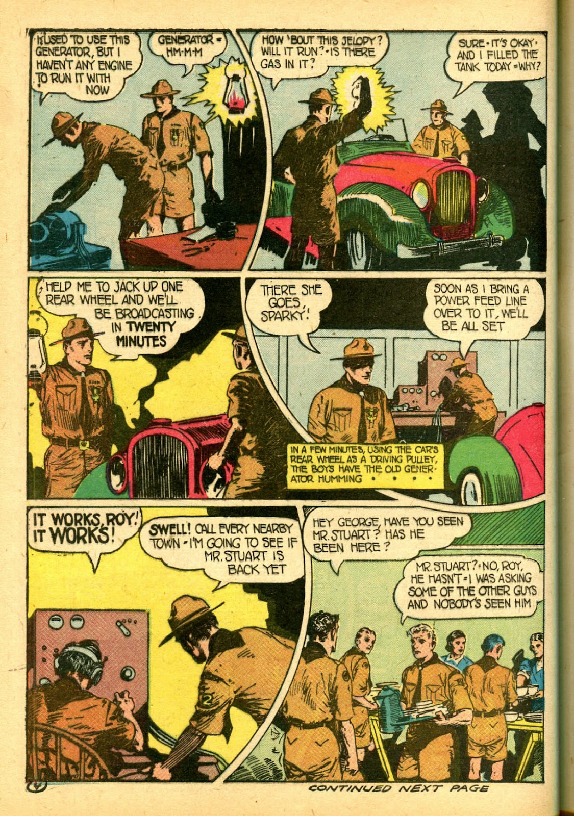 Read online Famous Funnies comic -  Issue #108 - 54