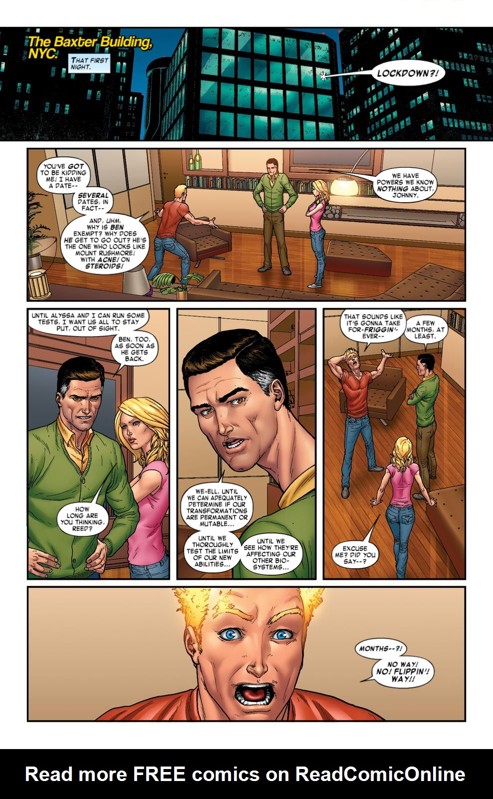 Read online Fantastic Four: Season One comic -  Issue # TPB - 30