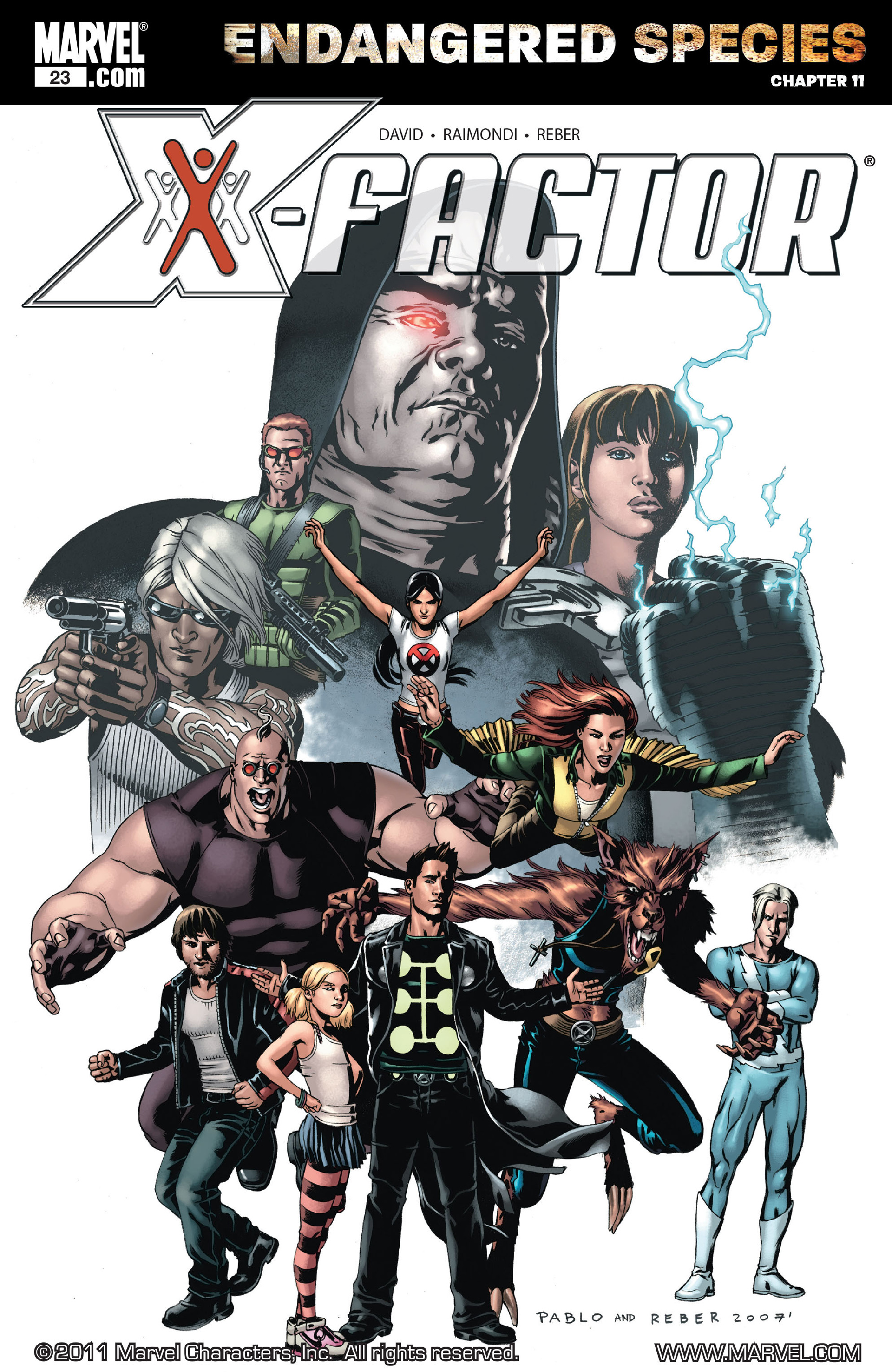 Read online X-Factor (2006) comic -  Issue #23 - 1