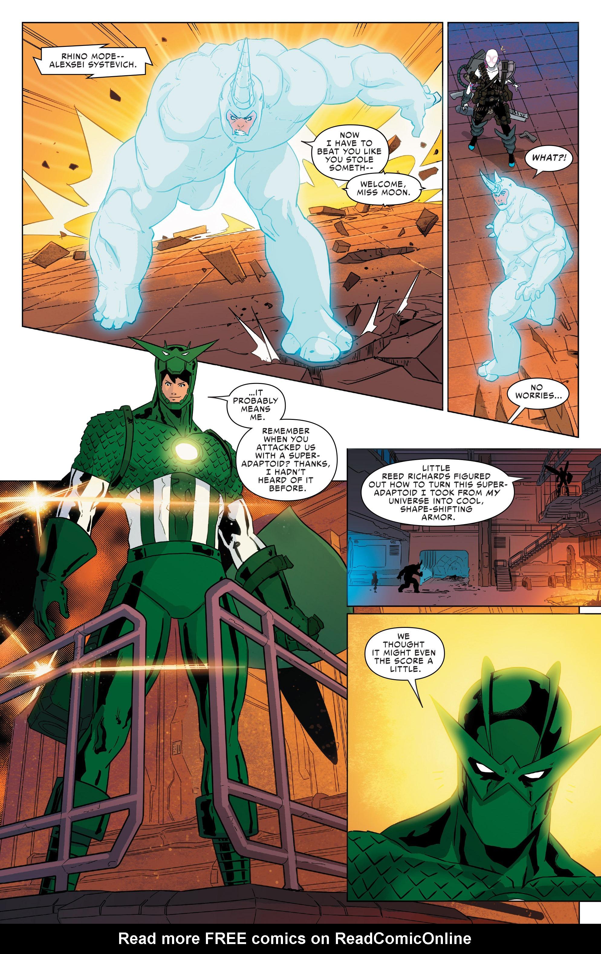 Read online Spider-Women Omega comic -  Issue # Full - 19