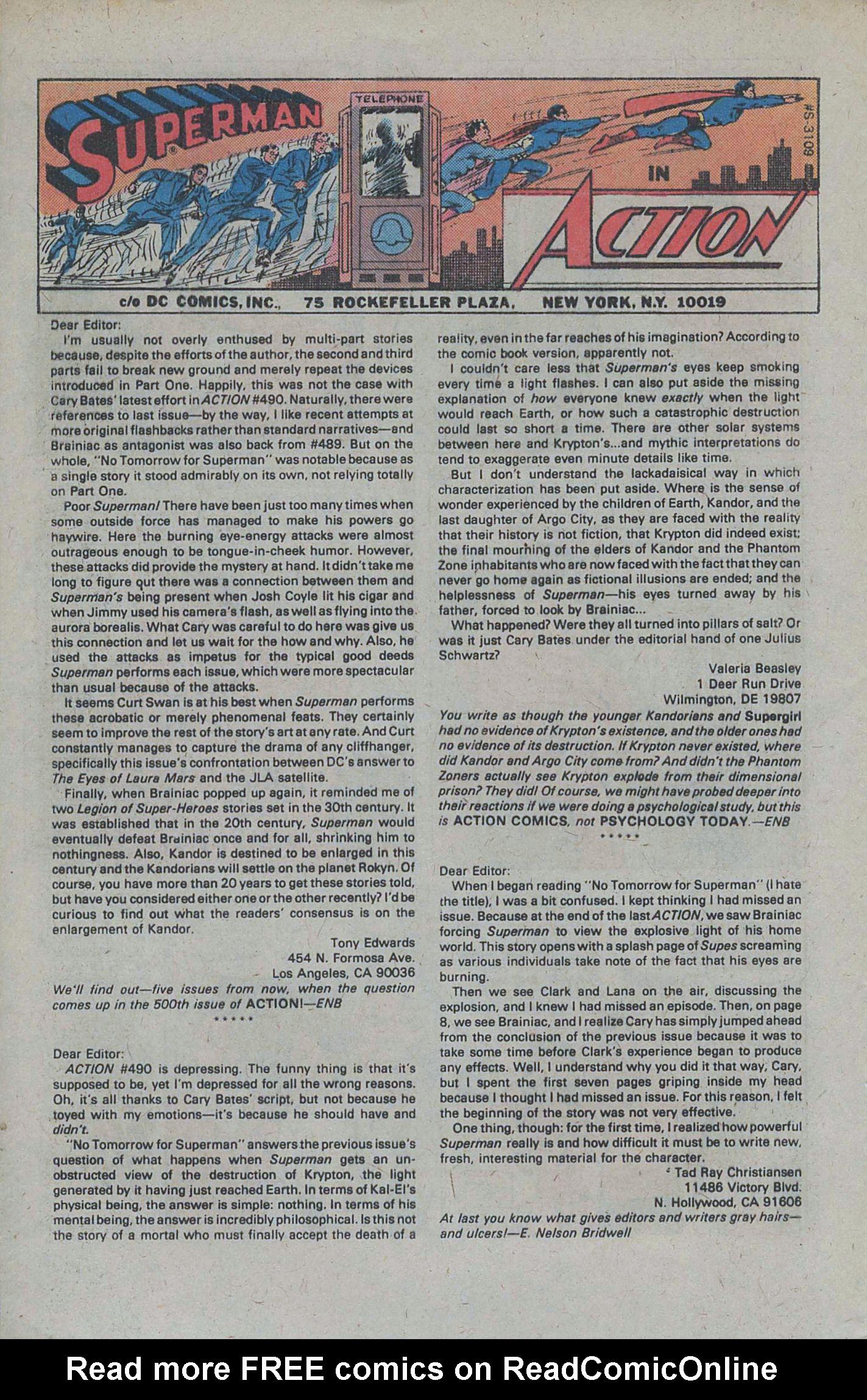 Action Comics (1938) 495 Page 31