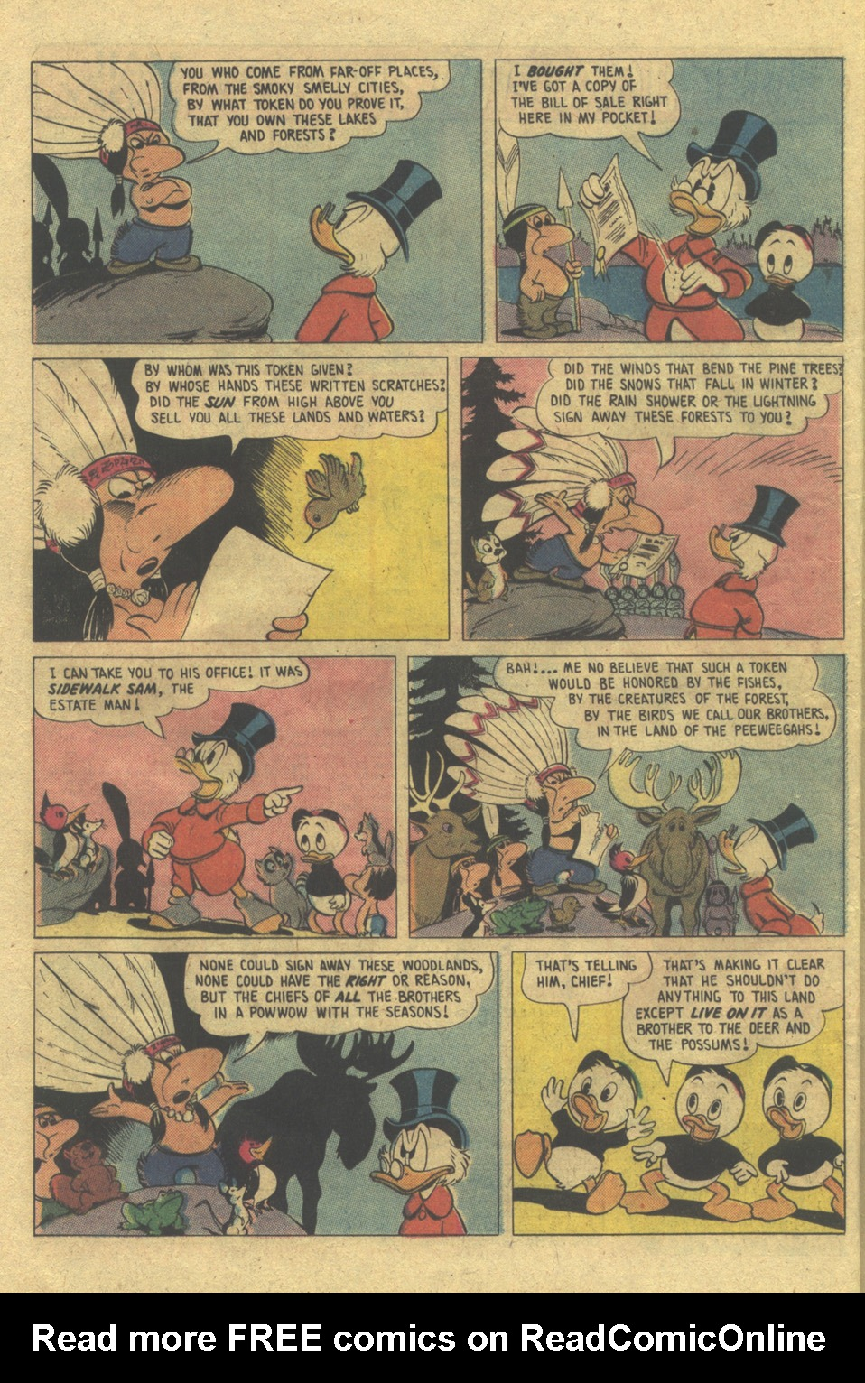 Read online Uncle Scrooge (1953) comic -  Issue #112 - 24