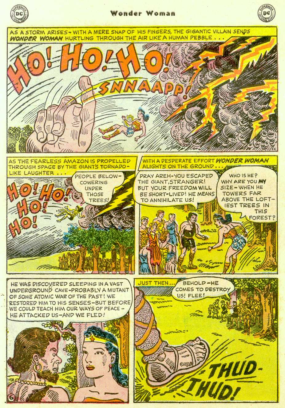 Read online Wonder Woman (1942) comic -  Issue #96 - 31