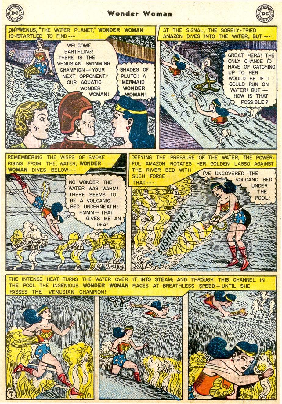 Read online Wonder Woman (1942) comic -  Issue #91 - 9