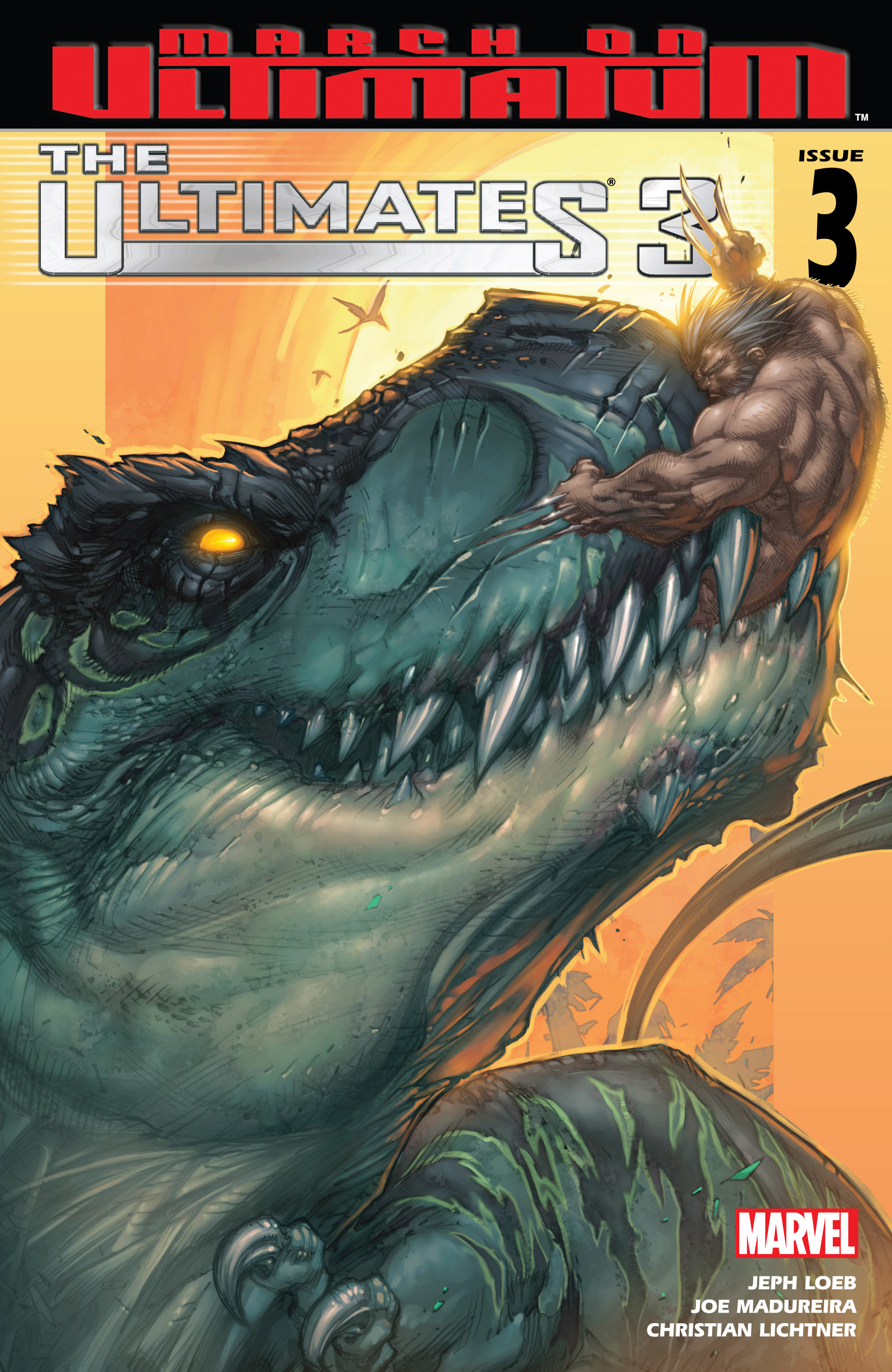Read online Ultimates 3 comic -  Issue #3 - 1