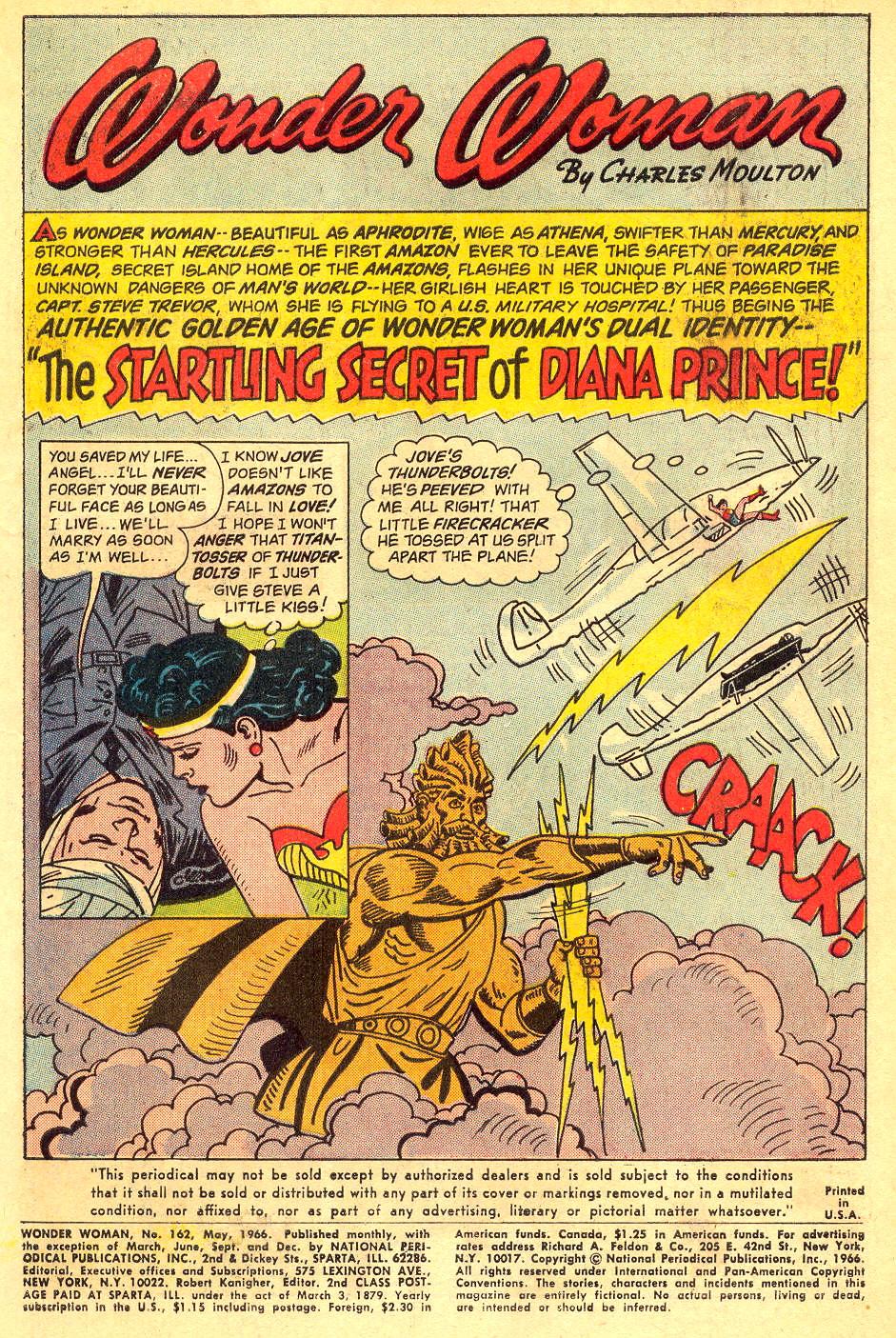 Read online Wonder Woman (1942) comic -  Issue #162 - 3