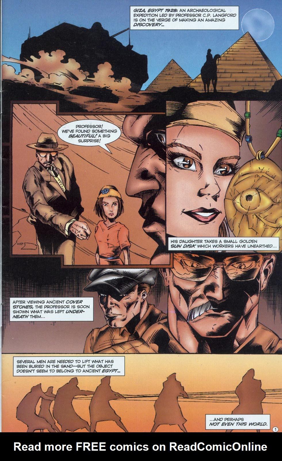 Read online Stargate comic -  Issue #1 - 3