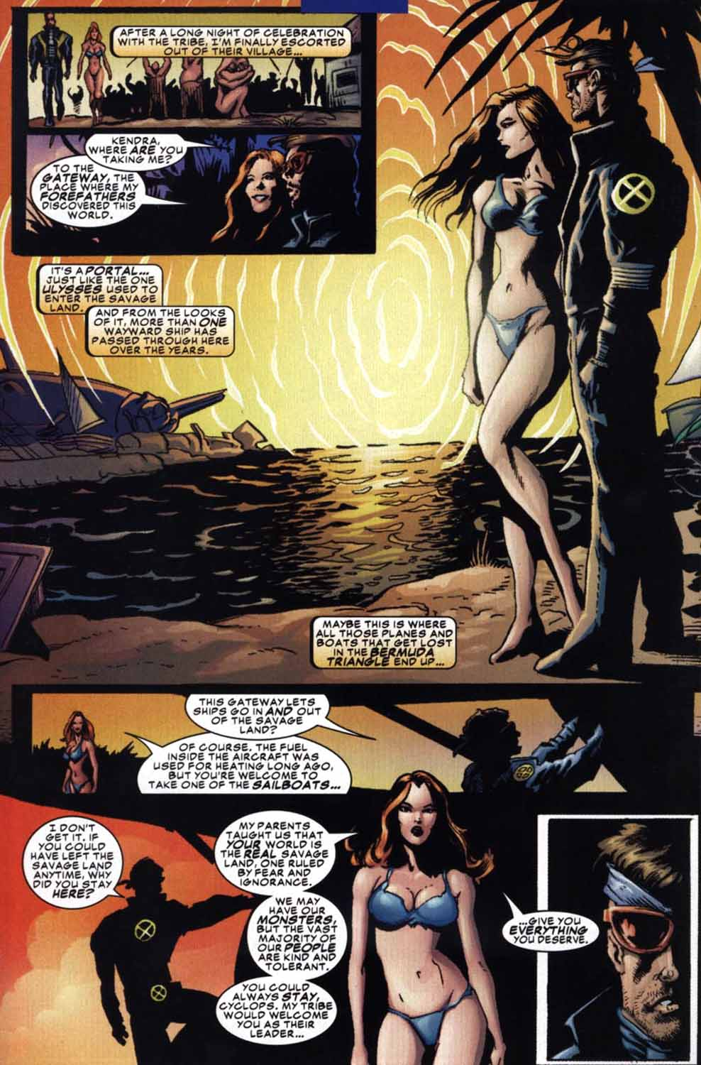 Read online Cyclops (2001) comic -  Issue #3 - 22