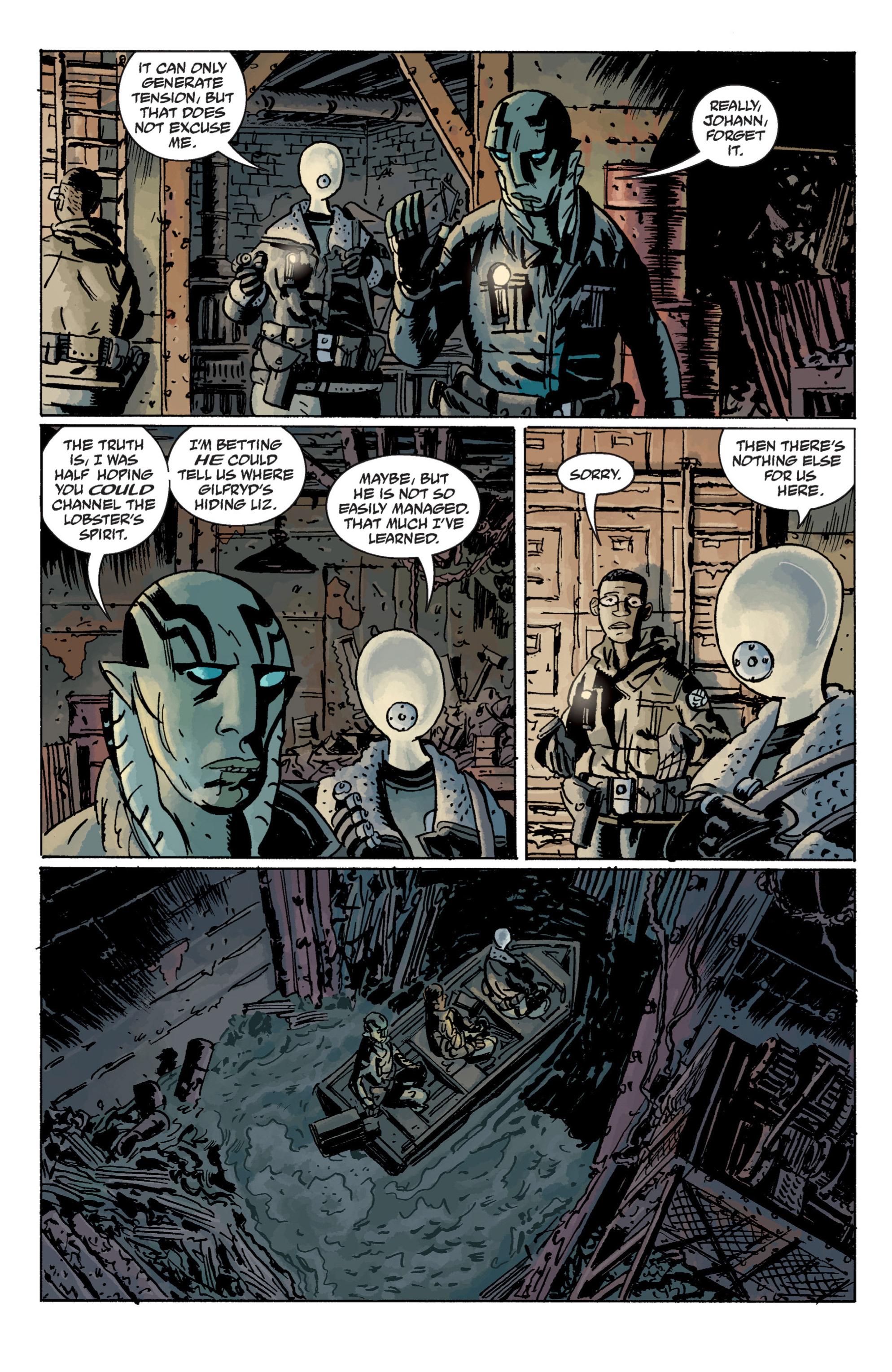 Read online B.P.R.D. (2003) comic -  Issue # TPB 11 - 30