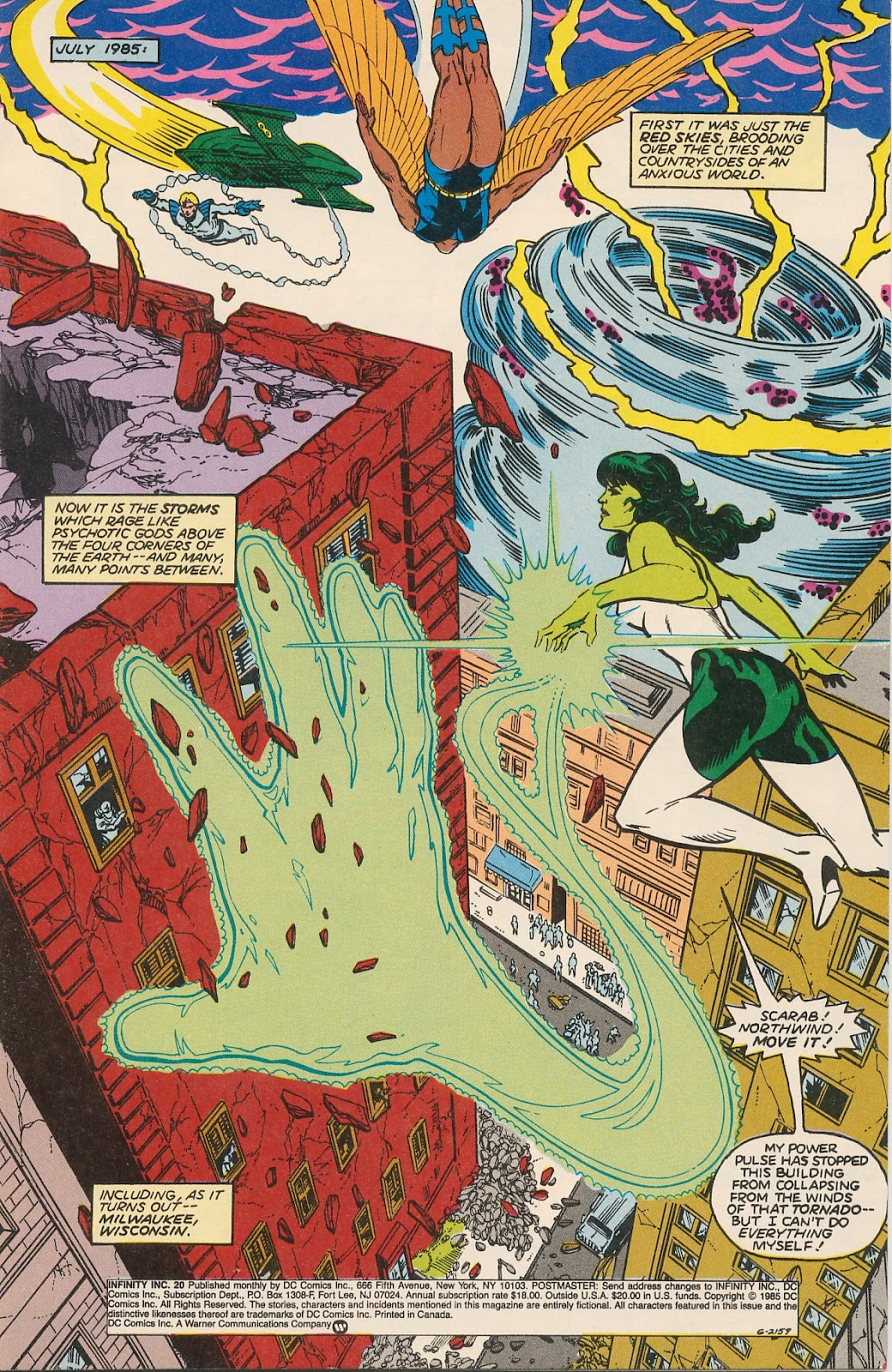 Infinity Inc. (1984) issue 20 - Page 3