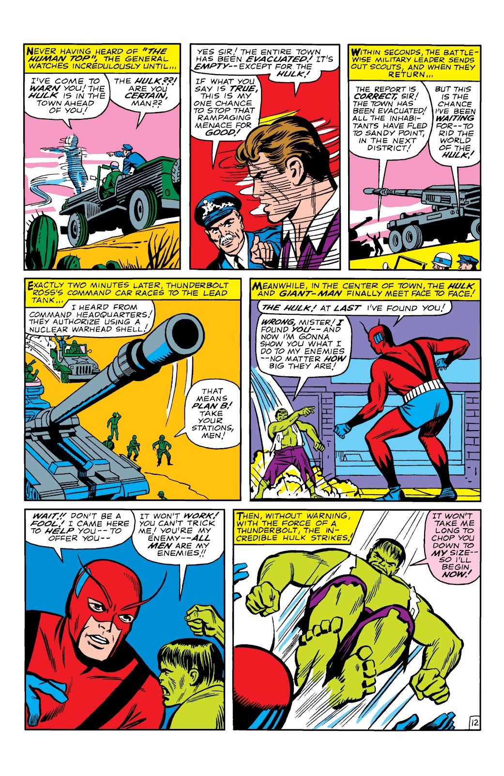 Read online Marvel Masterworks: The Incredible Hulk comic -  Issue # TPB 2 (Part 1) - 15