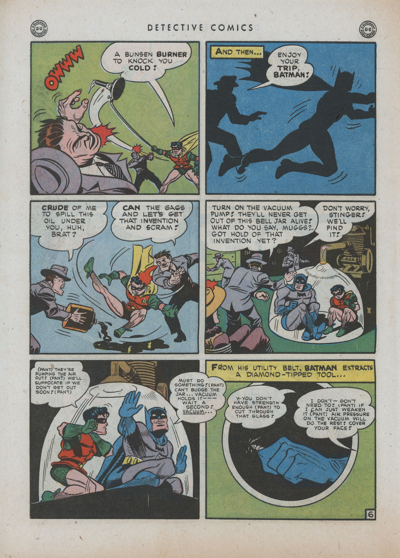 Read online Detective Comics (1937) comic -  Issue #89 - 8