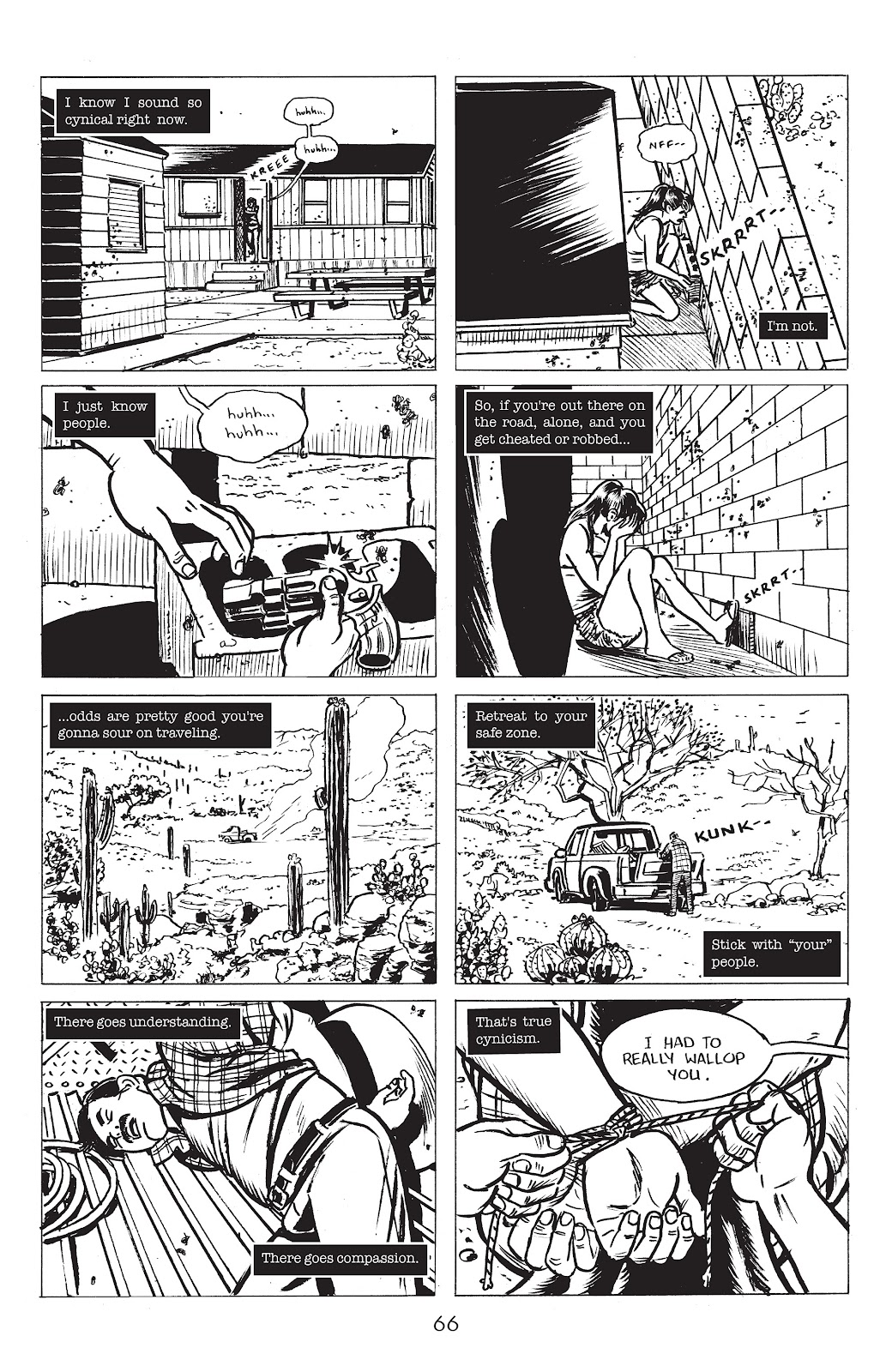 Read online Lodger comic -  Issue #4 - 8