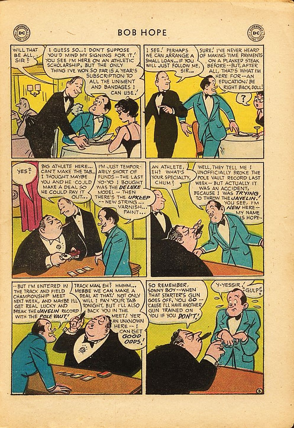 The Adventures of Bob Hope issue 42 - Page 27