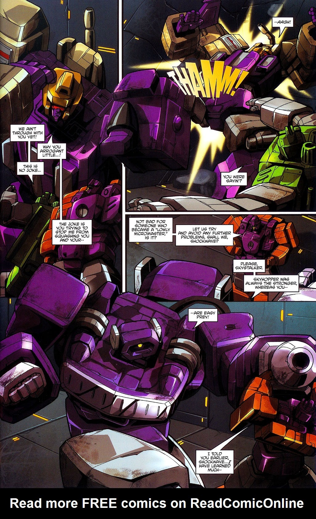 Read online Transformers: Micromasters comic -  Issue #3 - 21