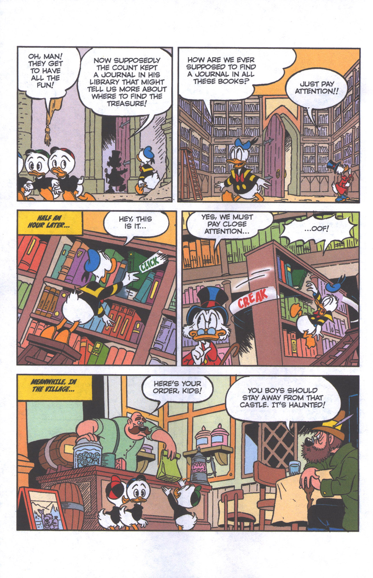Read online Uncle Scrooge (1953) comic -  Issue #384 - 7