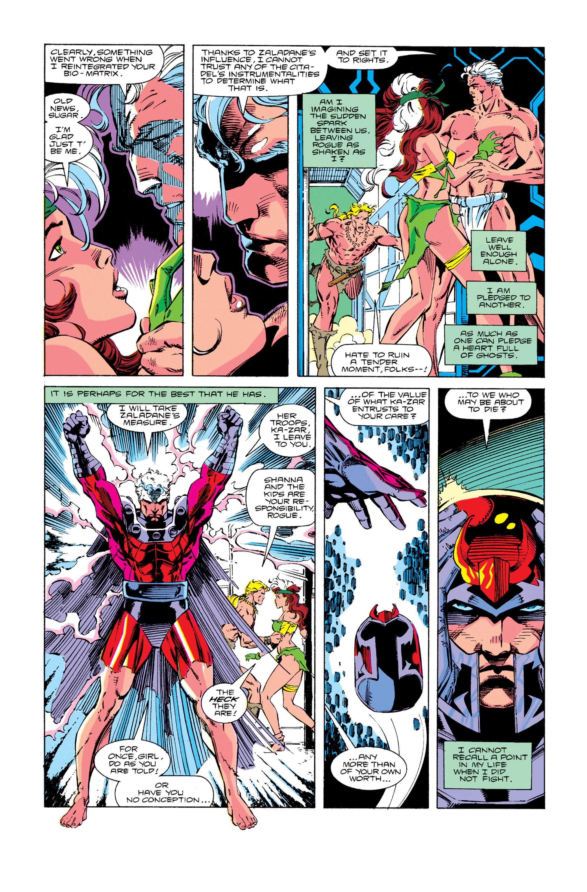 Read online Uncanny X-Men (1963) comic -  Issue #274 - 11