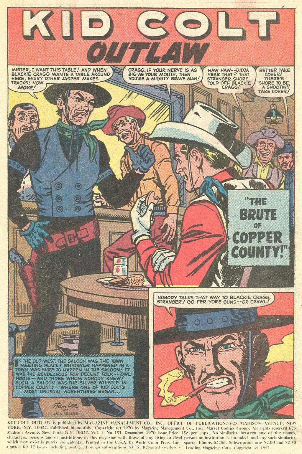 Kid Colt Outlaw issue 151 - Page 3