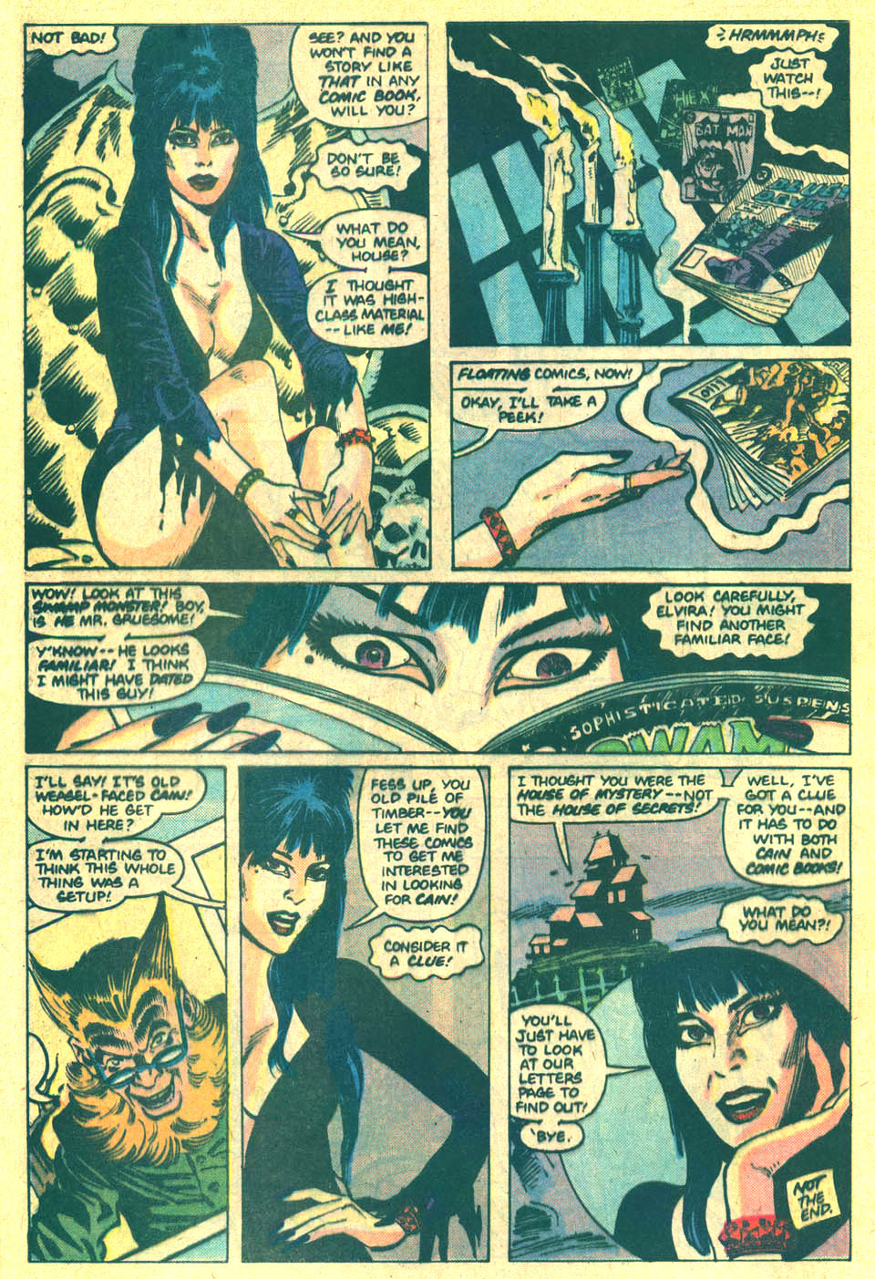 Elvira's House of Mystery Issue #5 #6 - English 22
