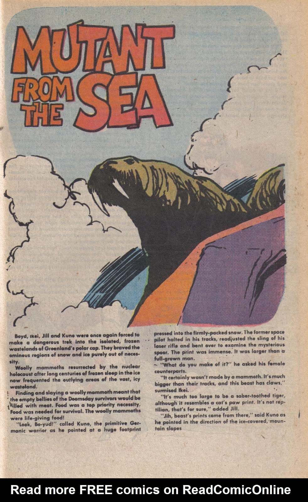 Read online Doomsday   1 (1975) comic -  Issue #10 - 30