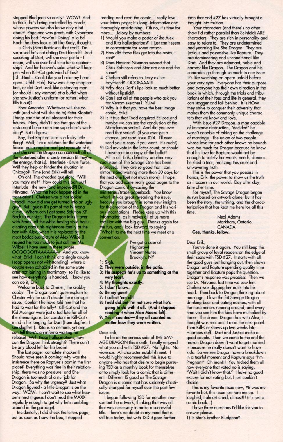 The Savage Dragon (1993) Issue #29 #32 - English 28