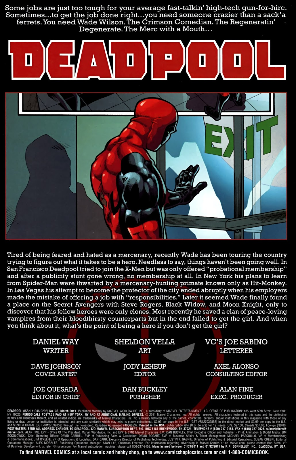 Read online Deadpool (2008) comic -  Issue #32 - 2