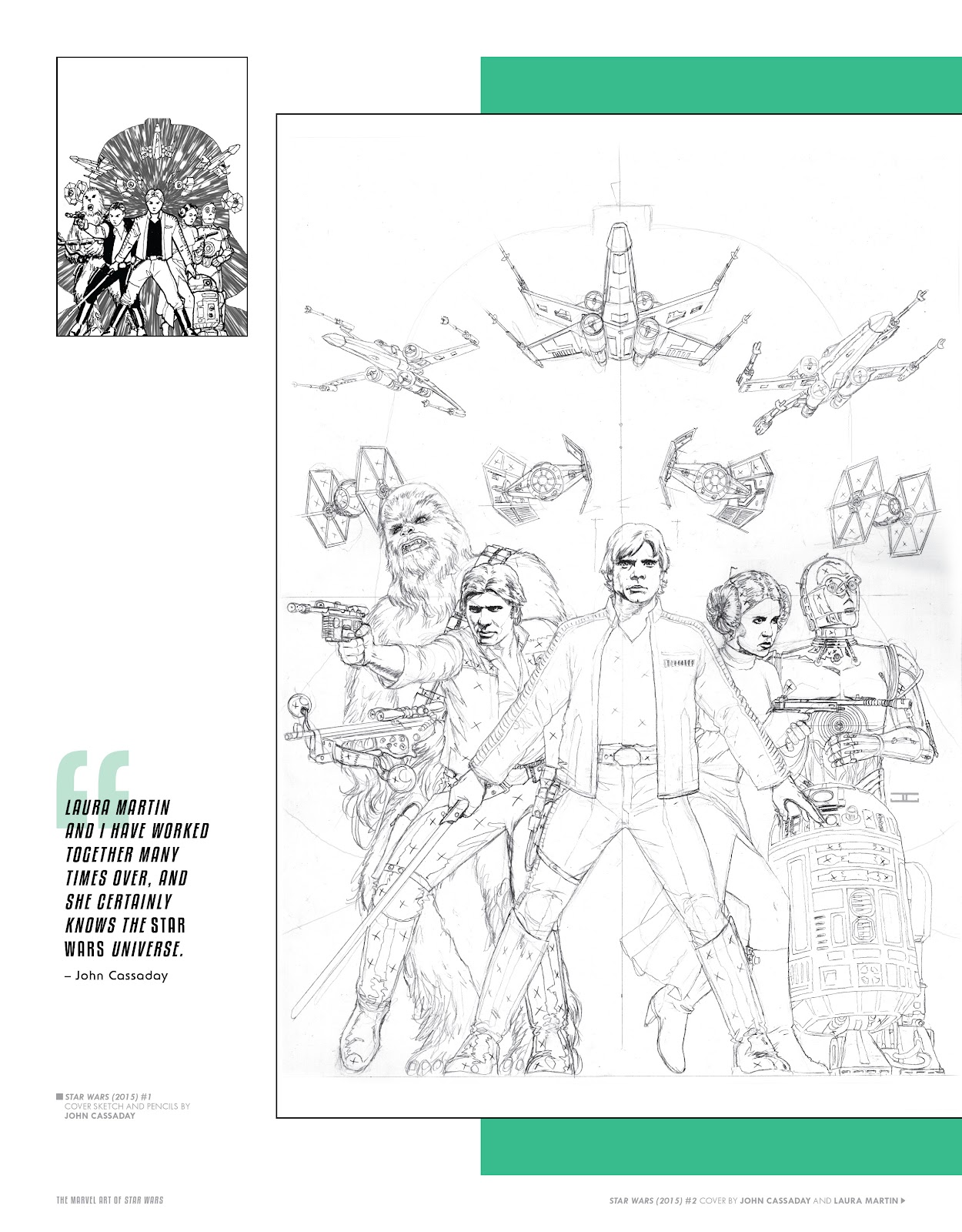Read online The Marvel Art of Star Wars comic -  Issue # TPB (Part 1) - 17