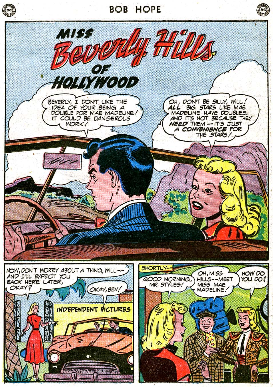 The Adventures of Bob Hope issue 8 - Page 29