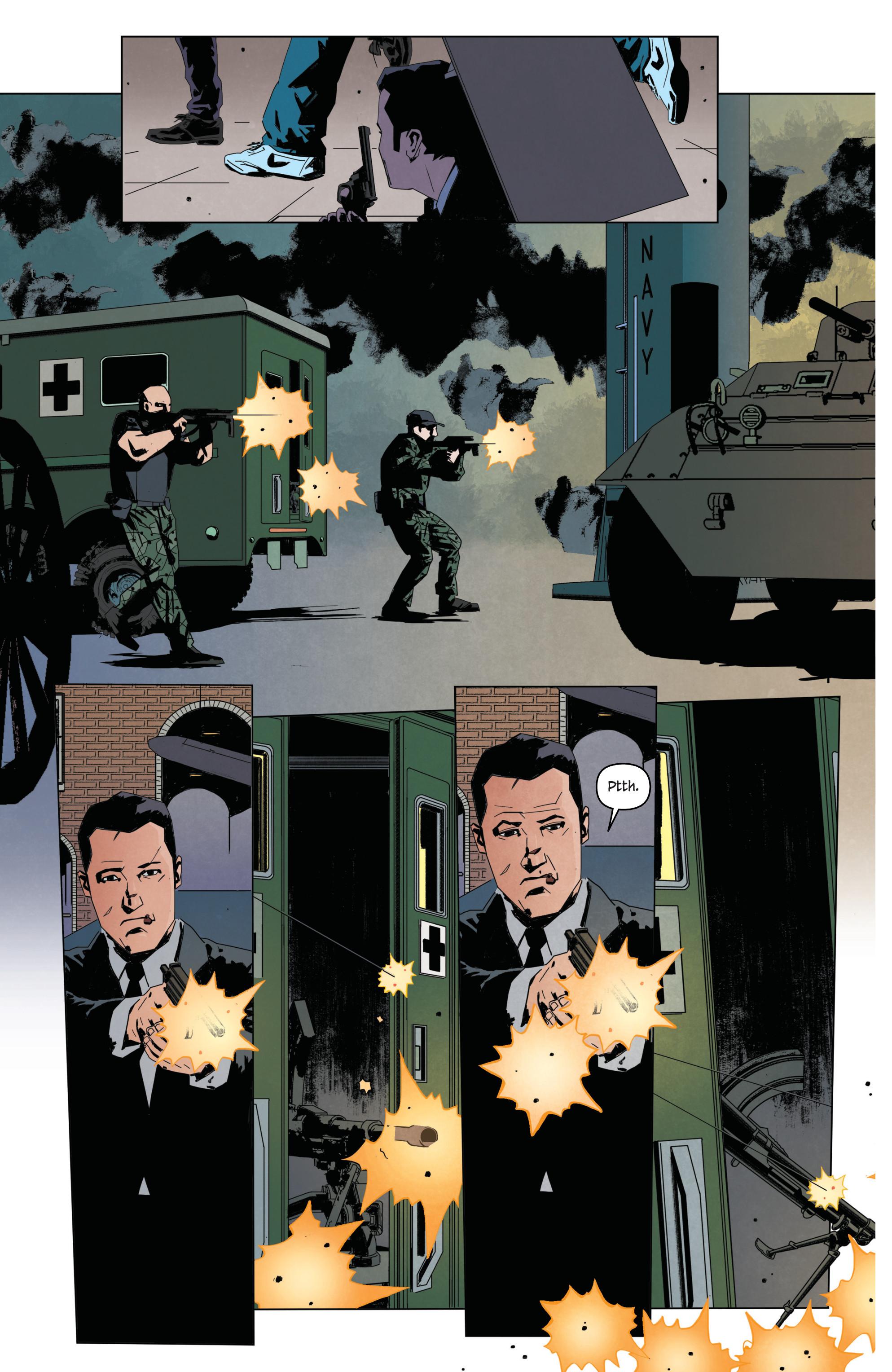 Read online James Bond: Service comic -  Issue # Full - 31