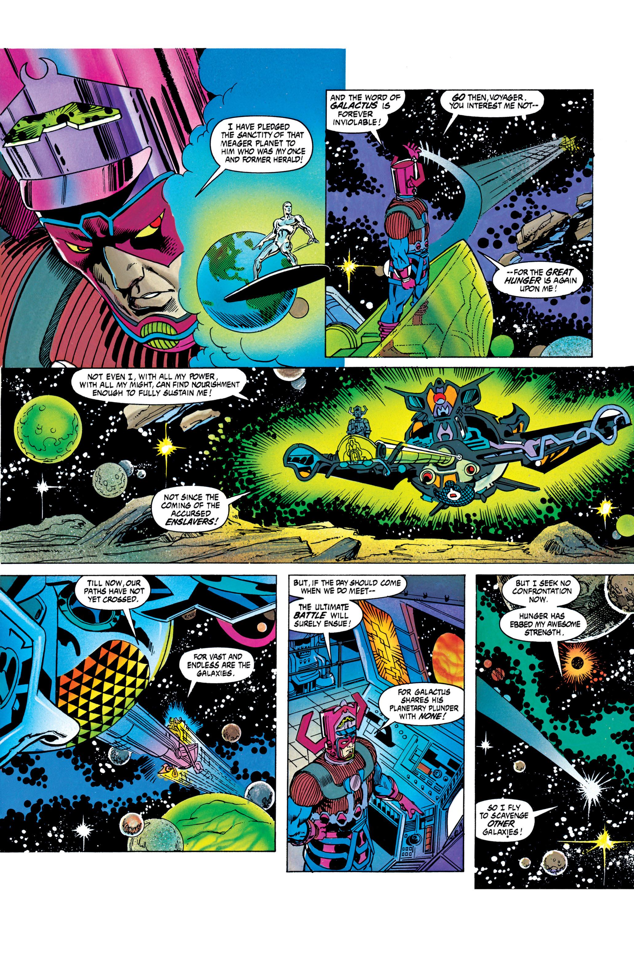 Read online Silver Surfer: Parable comic -  Issue # TPB - 60