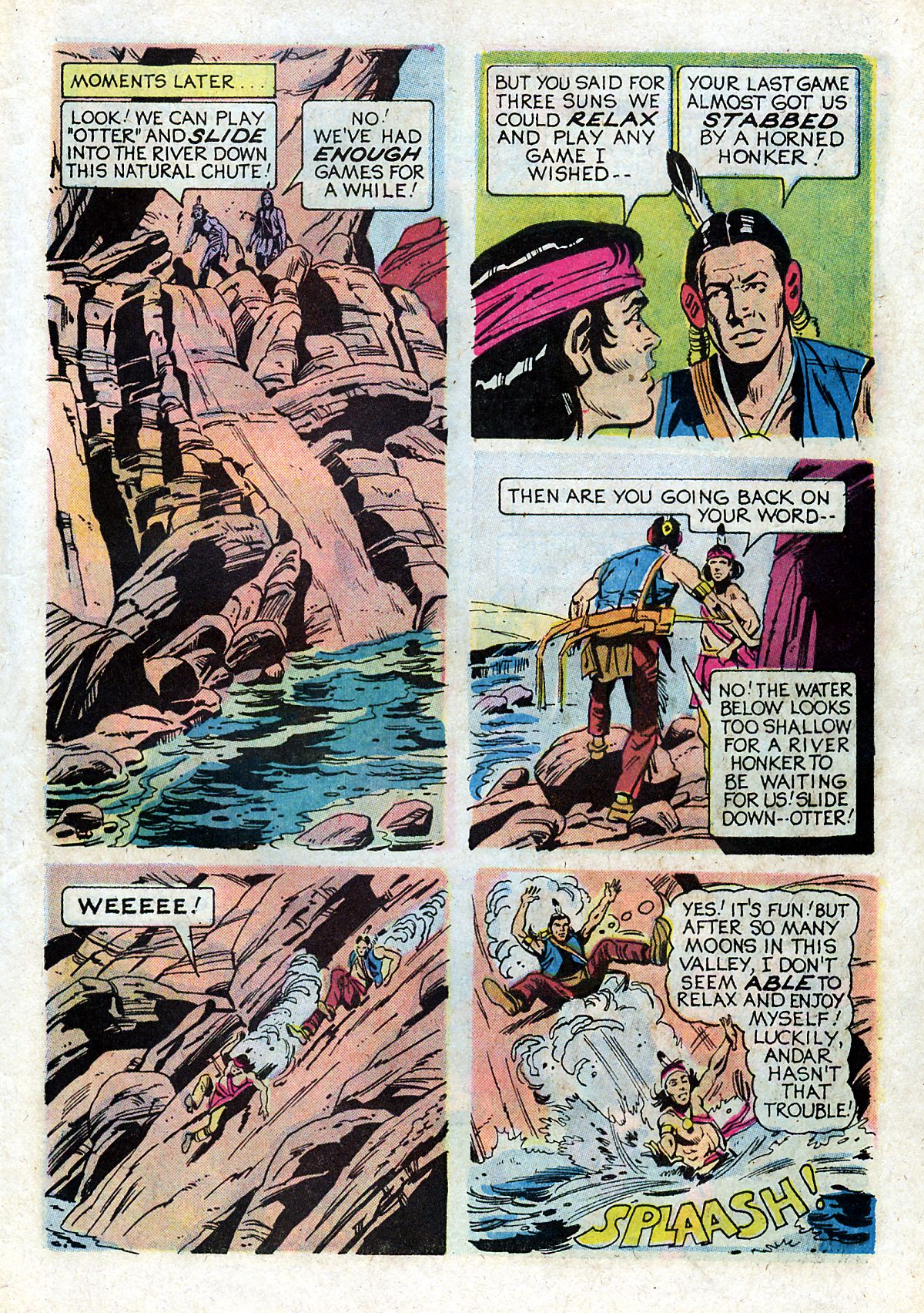 Read online Turok, Son of Stone comic -  Issue #93 - 27