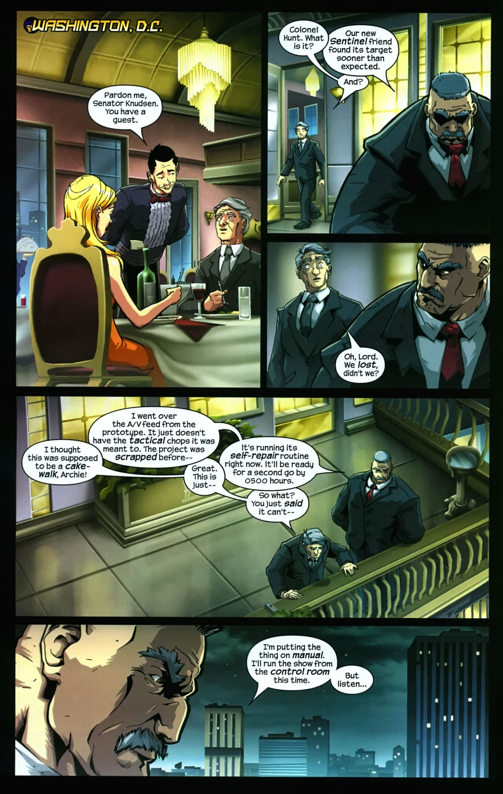 Read online Sentinel (2006) comic -  Issue #3 - 14