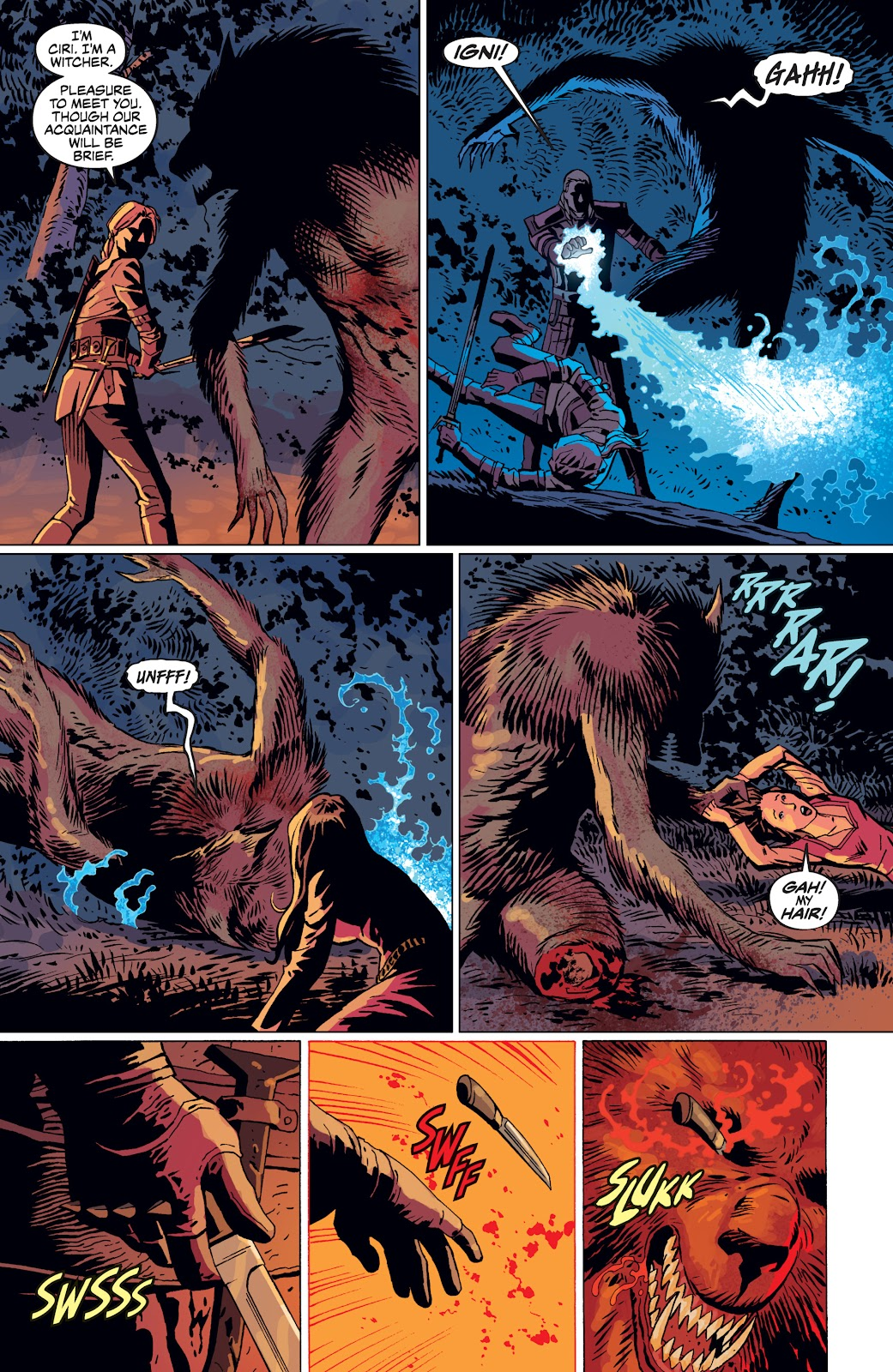 Read online The Witcher Omnibus comic -  Issue # TPB (Part 4) - 13