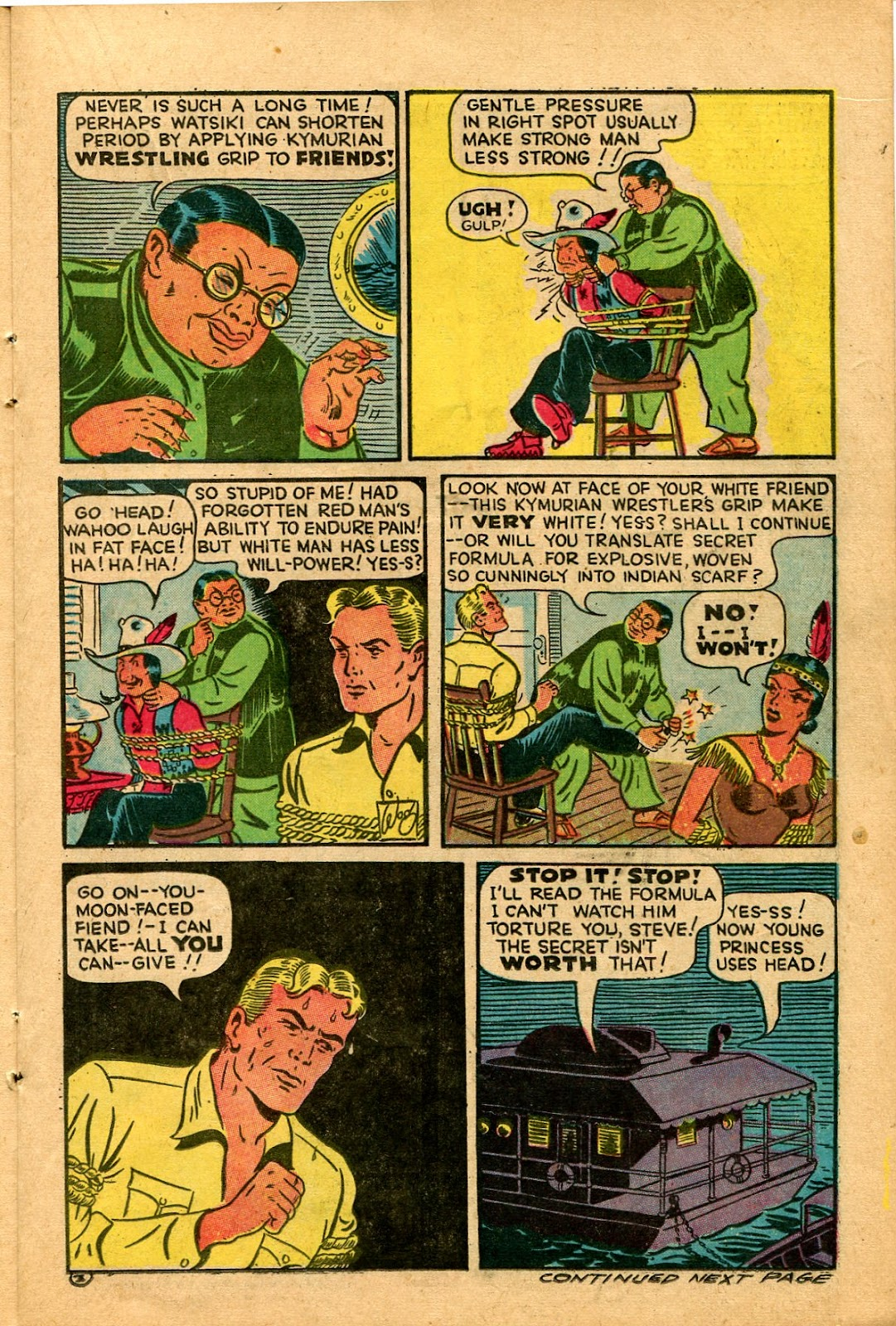 Read online Famous Funnies comic -  Issue #136 - 15