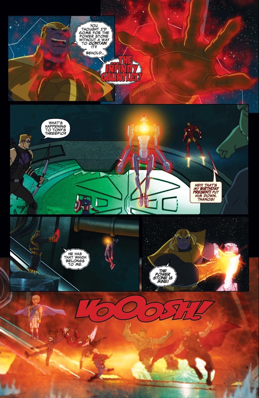 Read online Marvel Universe Avengers Assemble Season 2 comic -  Issue #2 - 19