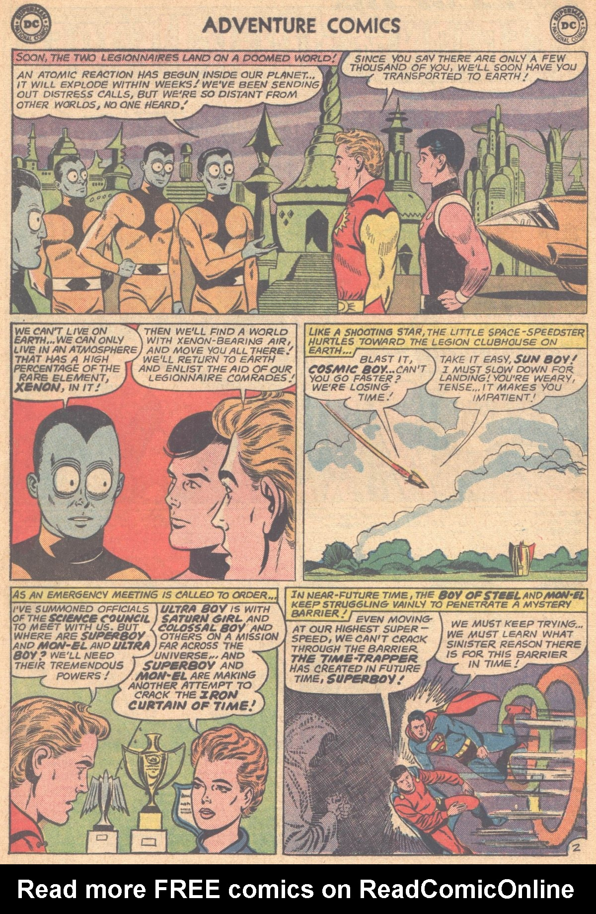 Read online Adventure Comics (1938) comic -  Issue #318 - 4